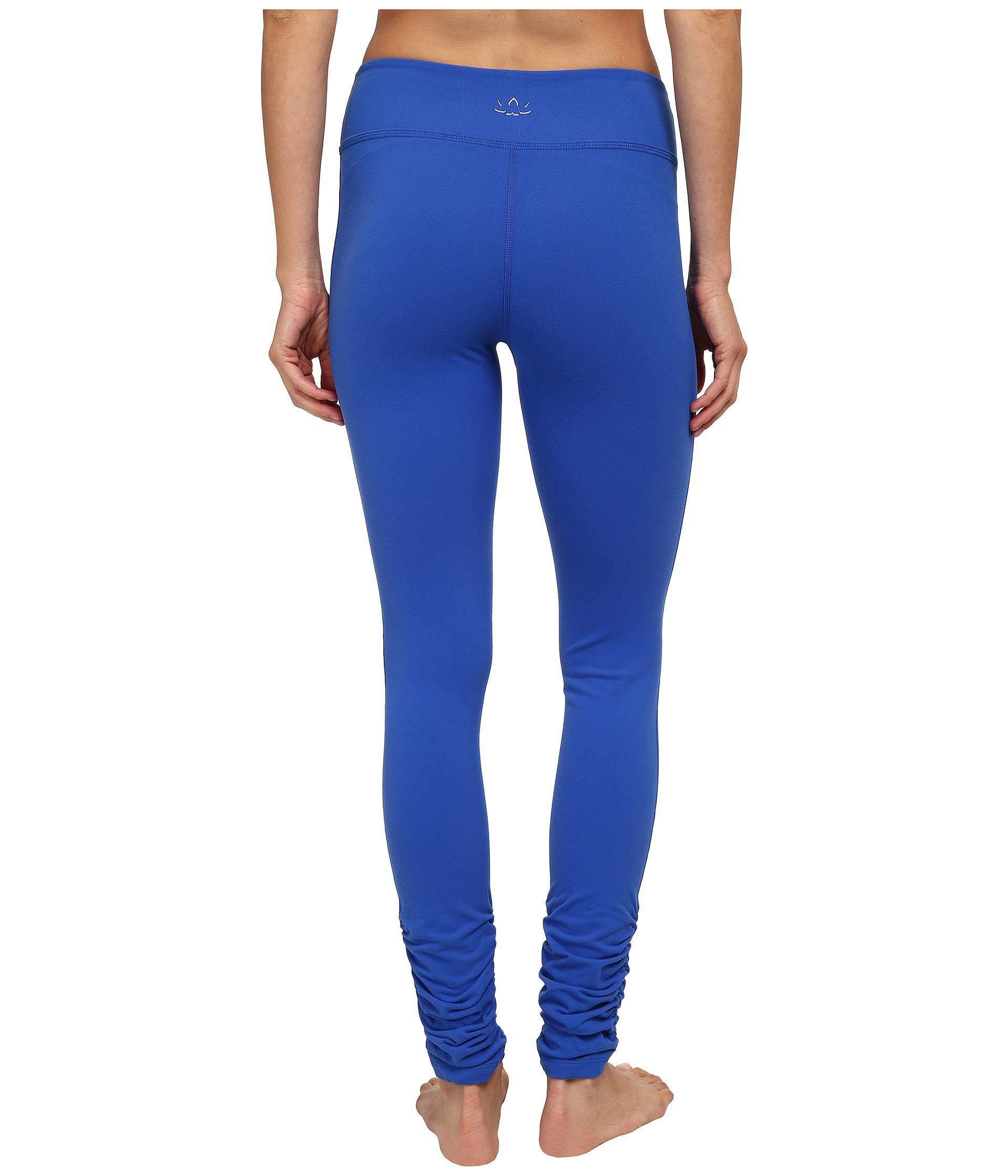 Beyond yoga Gather Long Leggings in Blue | Lyst
