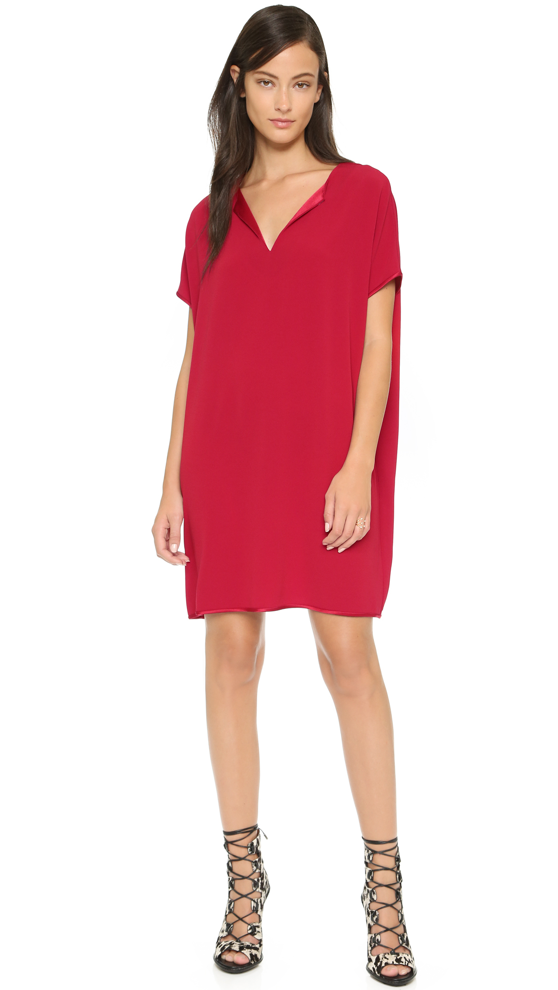 Diane von furstenberg Kora Dress in Red | Lyst