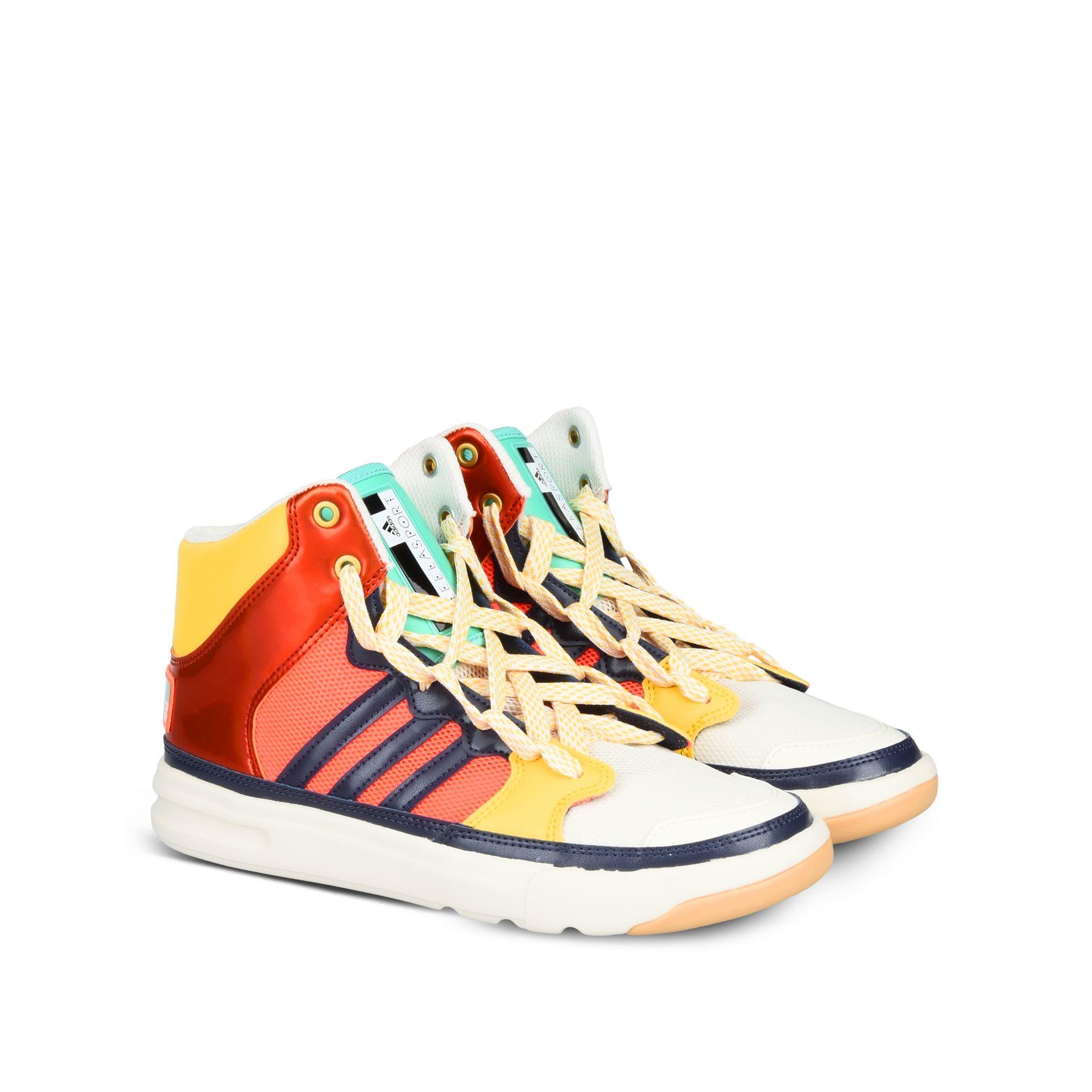Lyst Adidas By Stella Mccartney Irana Striped Faux