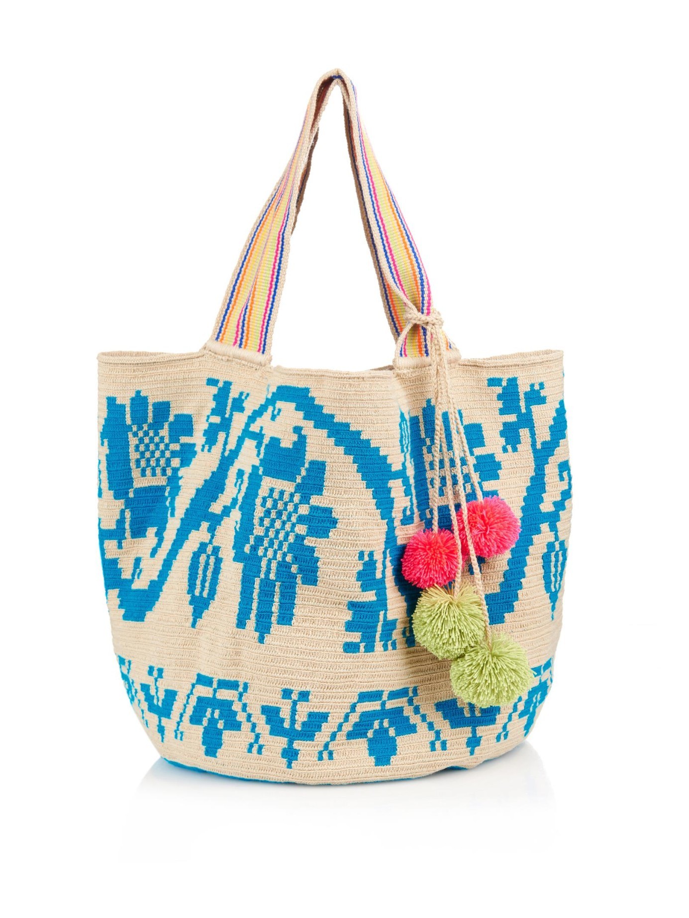 Sophie Woven Blue Lyst Cotton Anderson Luz Tote In 61xx4Hq