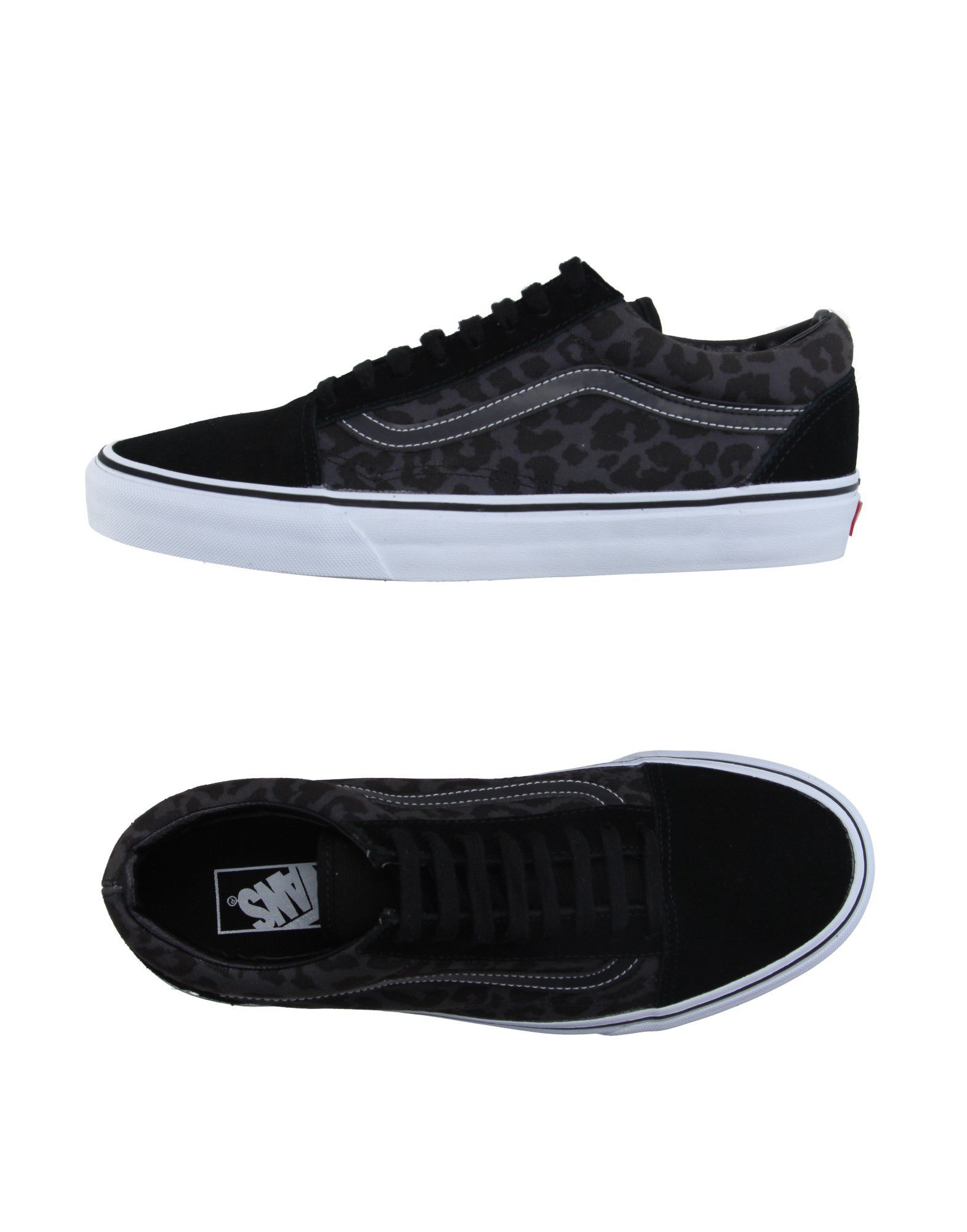vans low tops trainers in gray for men lyst. Black Bedroom Furniture Sets. Home Design Ideas