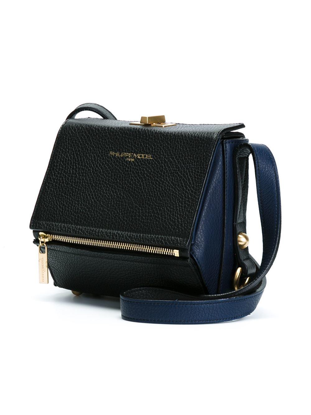 Model In Body Madeleine Cross Philippe Bag Black Lyst Rxn5qSwC5