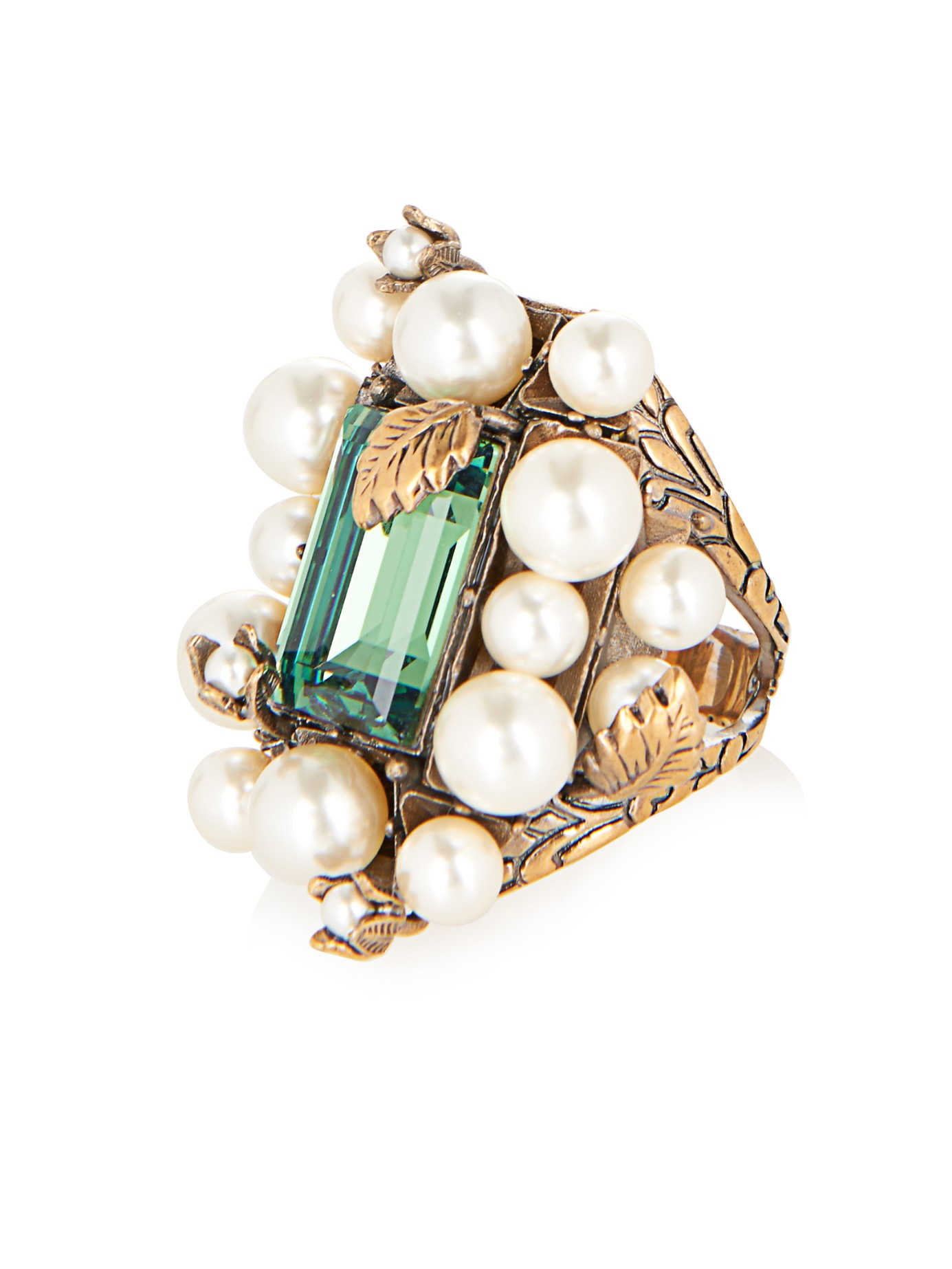 Gucci Ring with pearls 4zx0dGtO