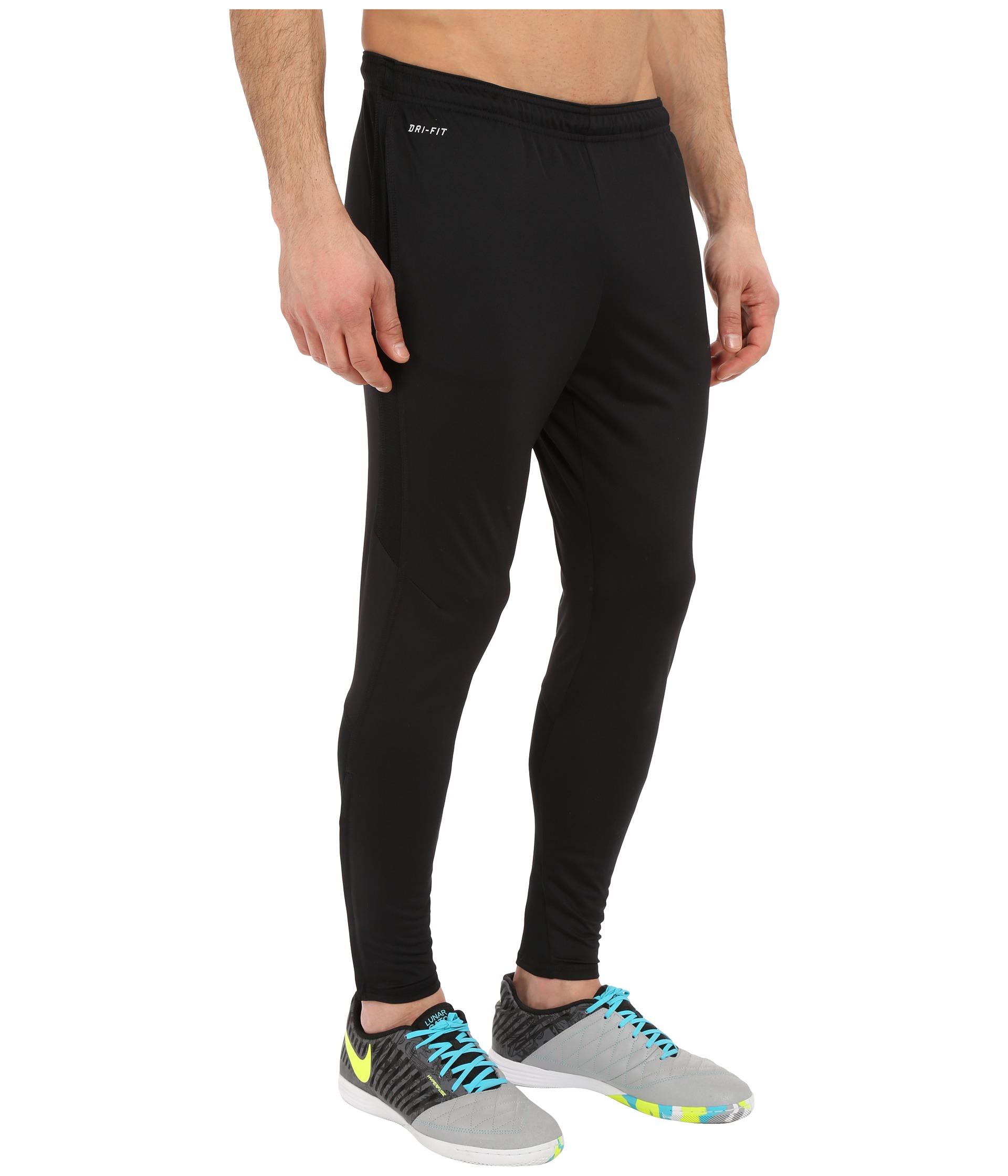 Nike Strike Tech Soccer Pant in Black for Men | Lyst