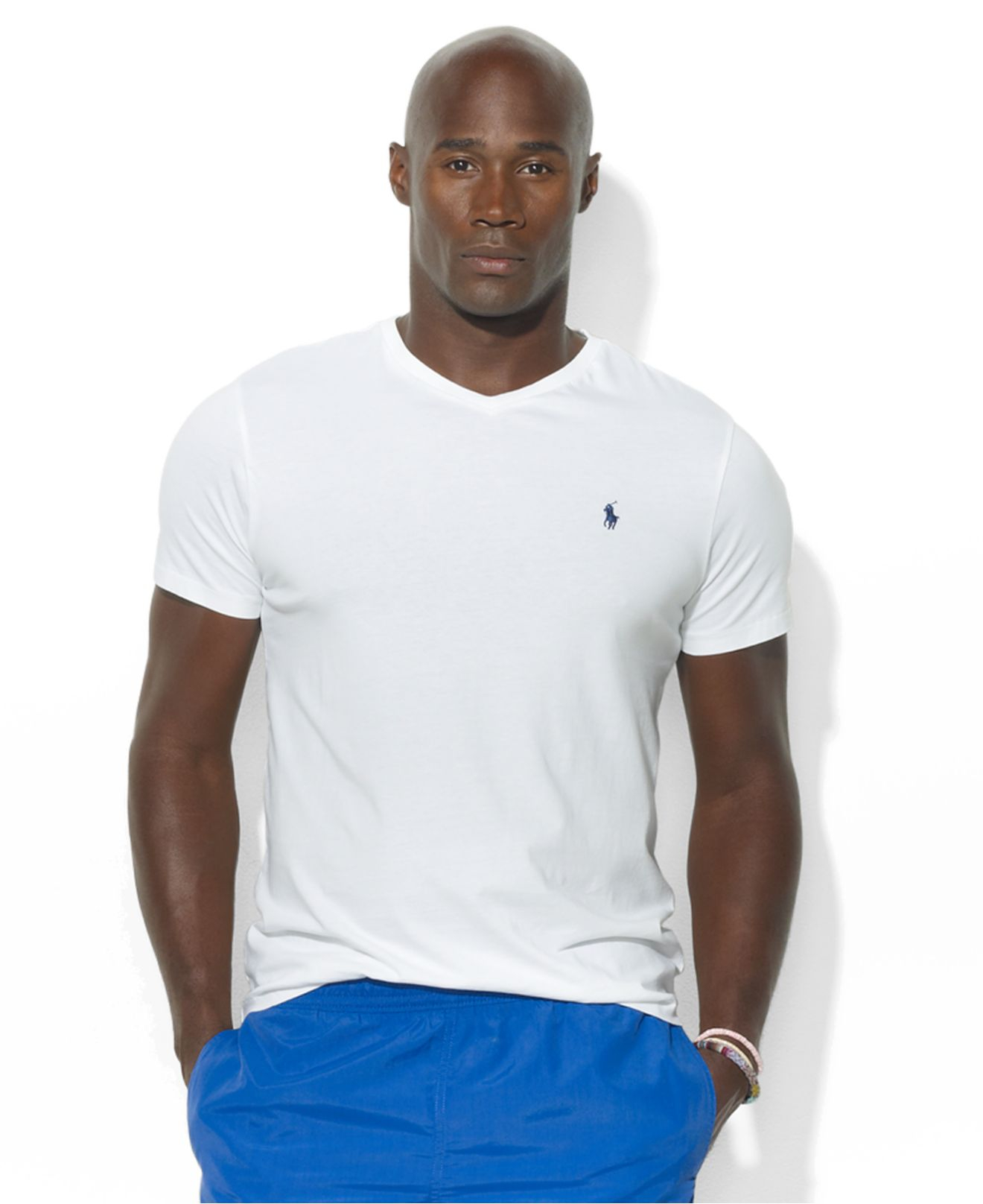 Polo ralph lauren Big And Tall Classic-fit V-neck Short-sleeve Cotton