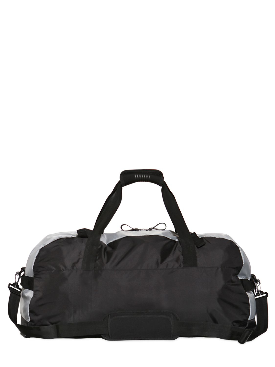 879bfe77d0fb Lyst - Emporio Armani Two Tone Ripstop Sport Duffle Bag in Black for Men