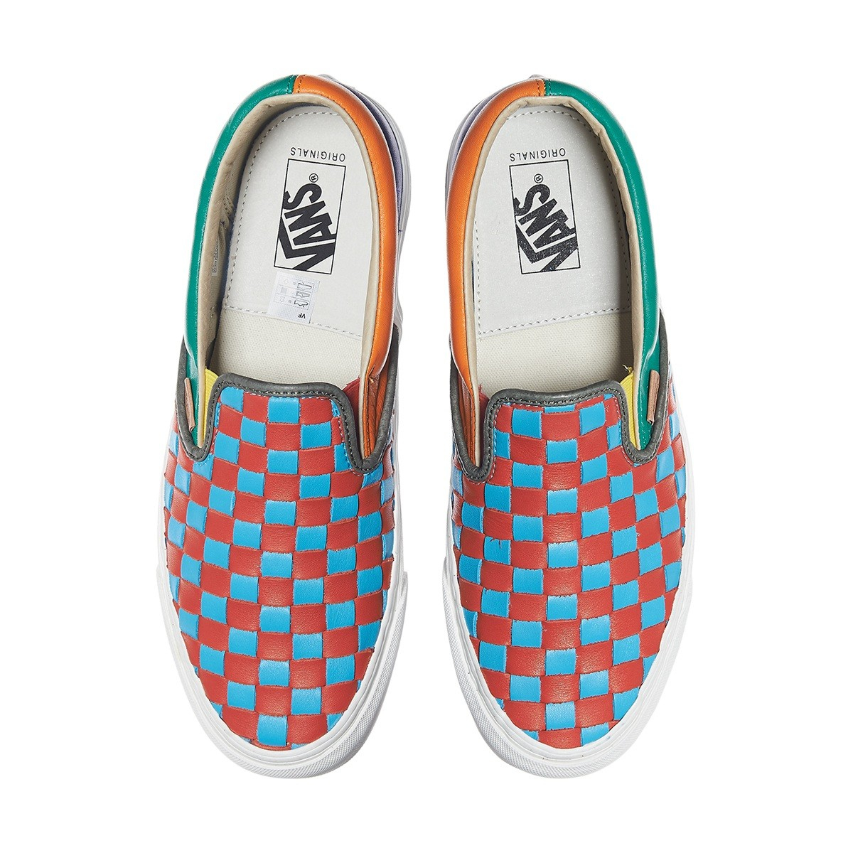 b00d02eb611 Lyst - Vans Og Classic Slip-on Lx 50th Checkerboard Anniversary ...
