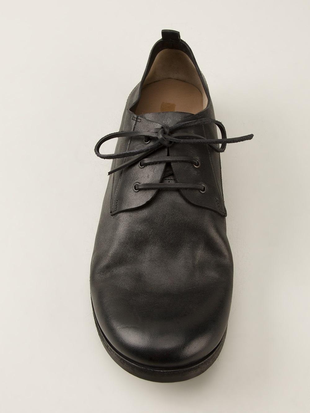 Lyst Mars 232 Ll Chunky Derby Shoe In Black For Men