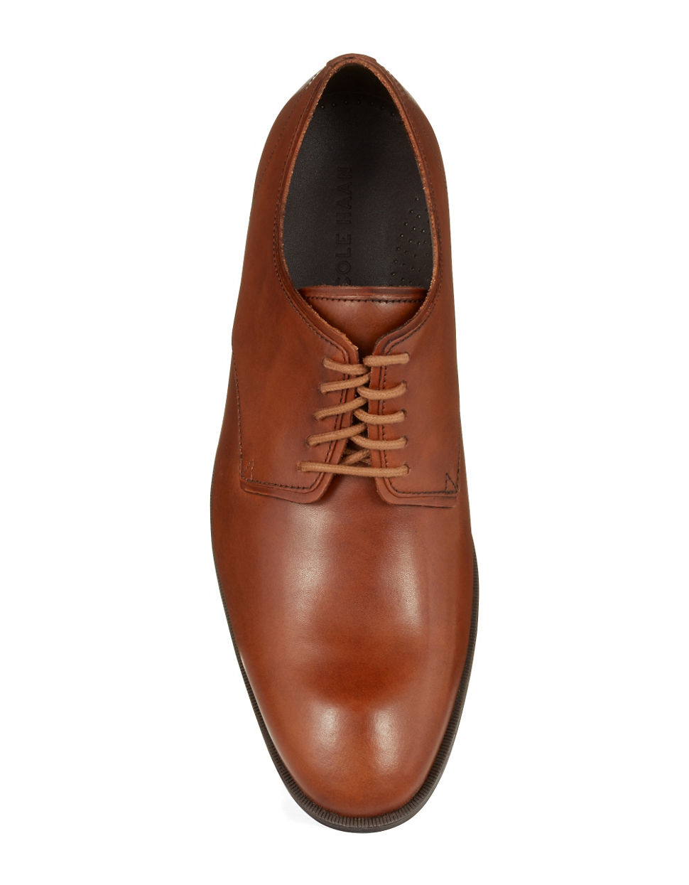 on sale beautiful and charming save off Cole Haan Multicolor Copley Leather Plain Derby Oxfords for men
