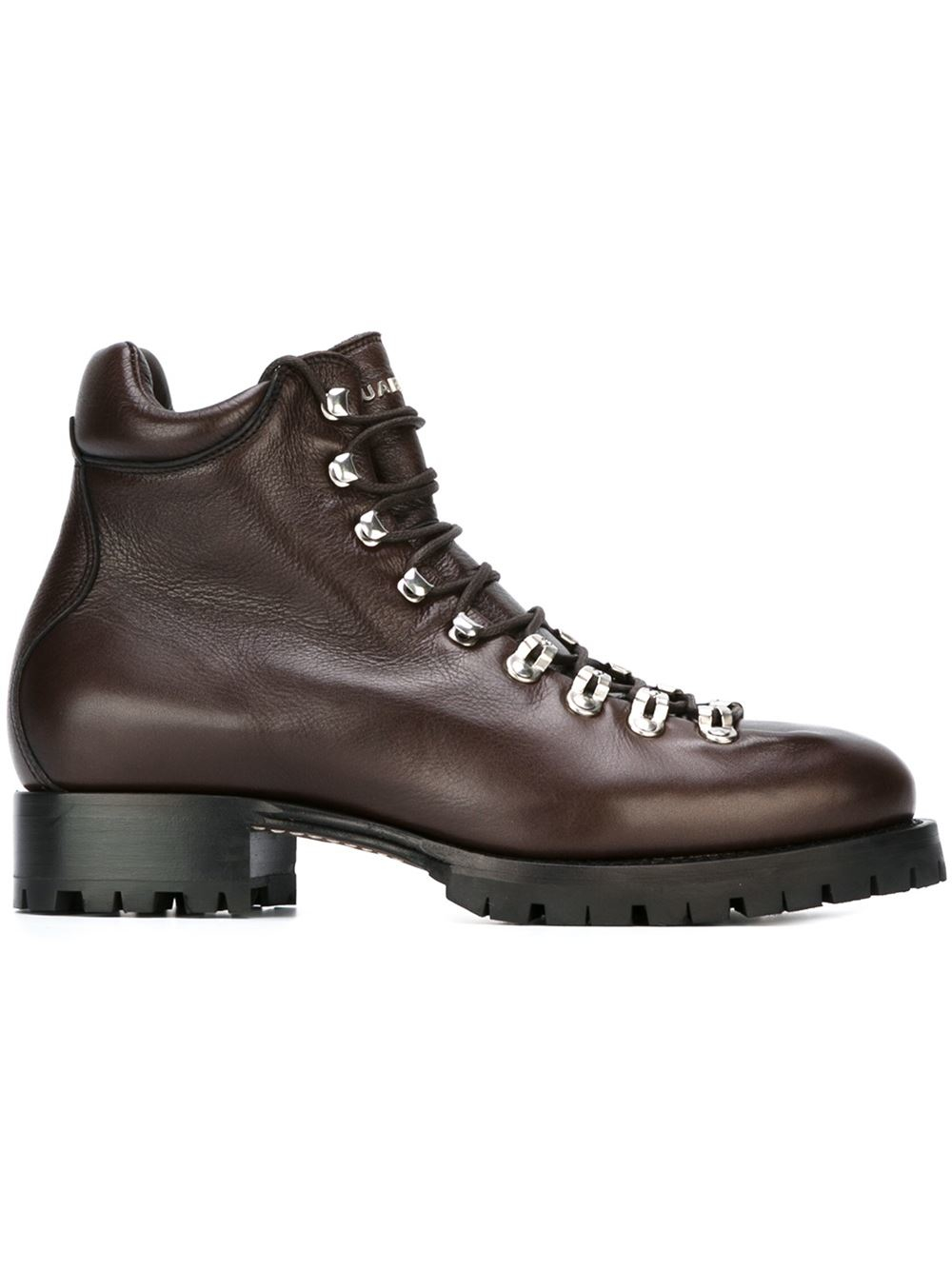 dsquared 178 lace up boots in brown for lyst