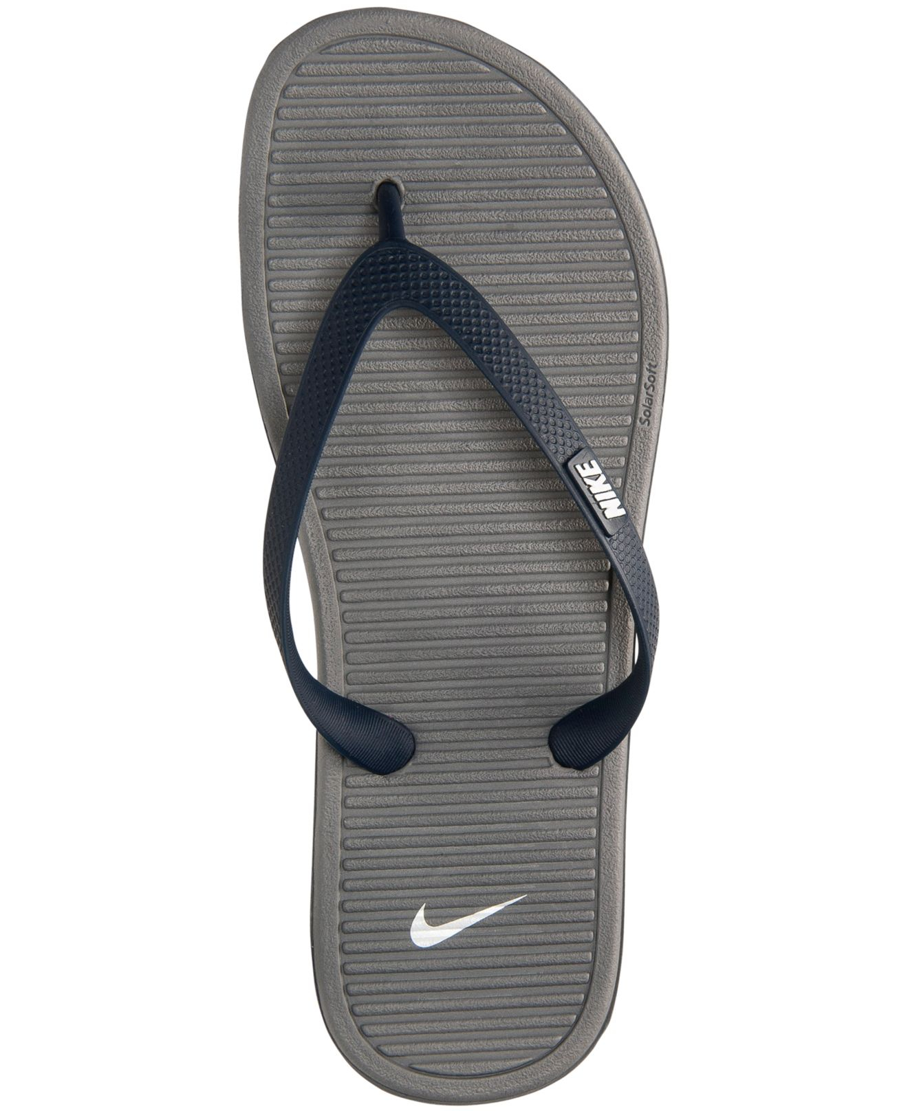 3bca56c296bc Lyst - Nike Men s Solarsoft Thong Ii Sandals From Finish Line in ...