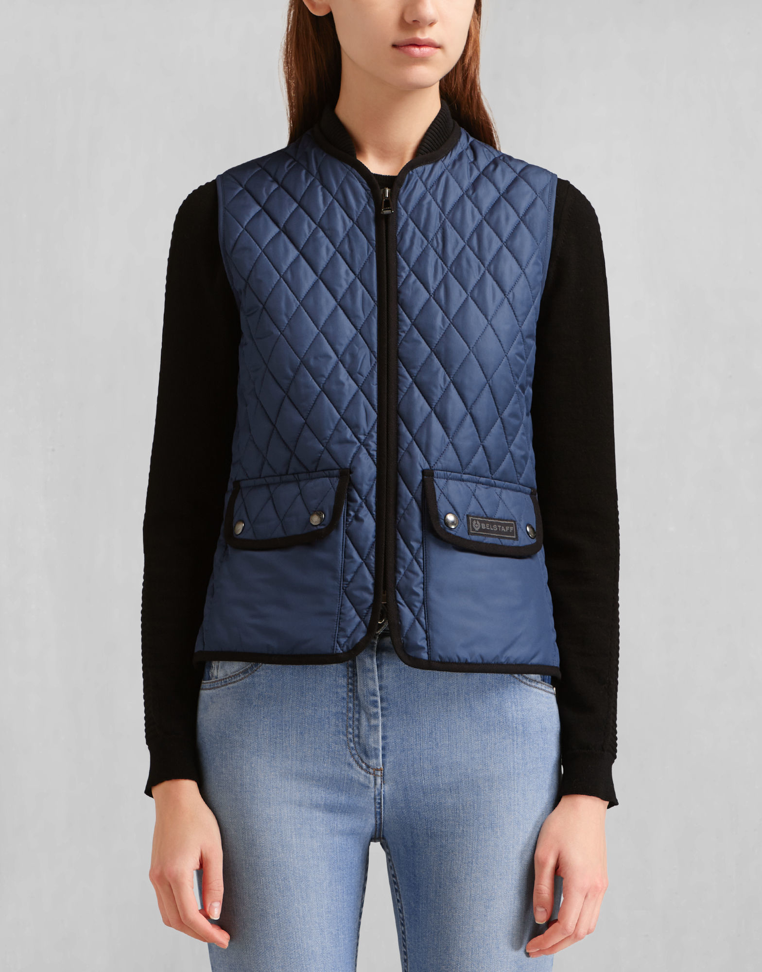 flannels quilt crew pin women j excursion in womens flannel vest quilted size s
