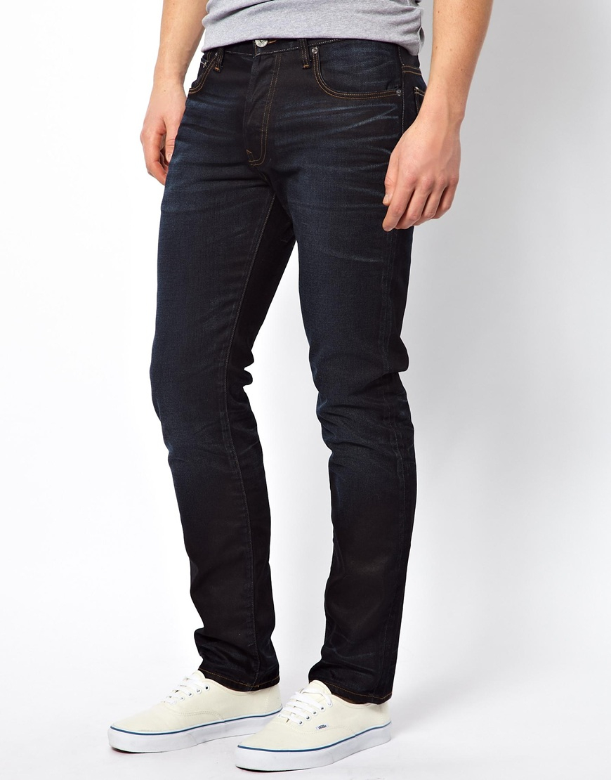 g star raw g star jeans 3301 straight fit indigo aged in. Black Bedroom Furniture Sets. Home Design Ideas