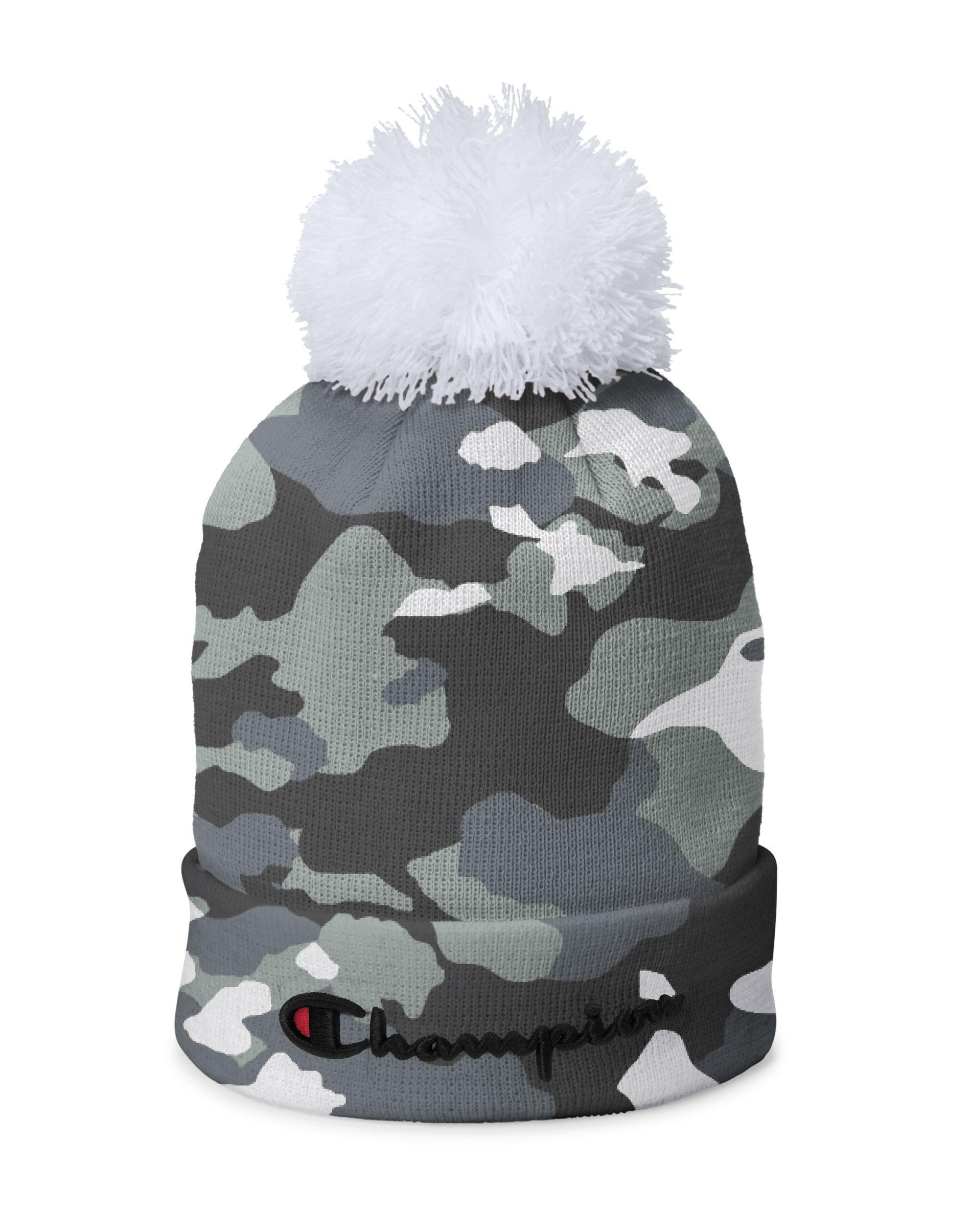 86fb44761d2 Lyst - Champion Life® Script Knit Pom in Gray for Men