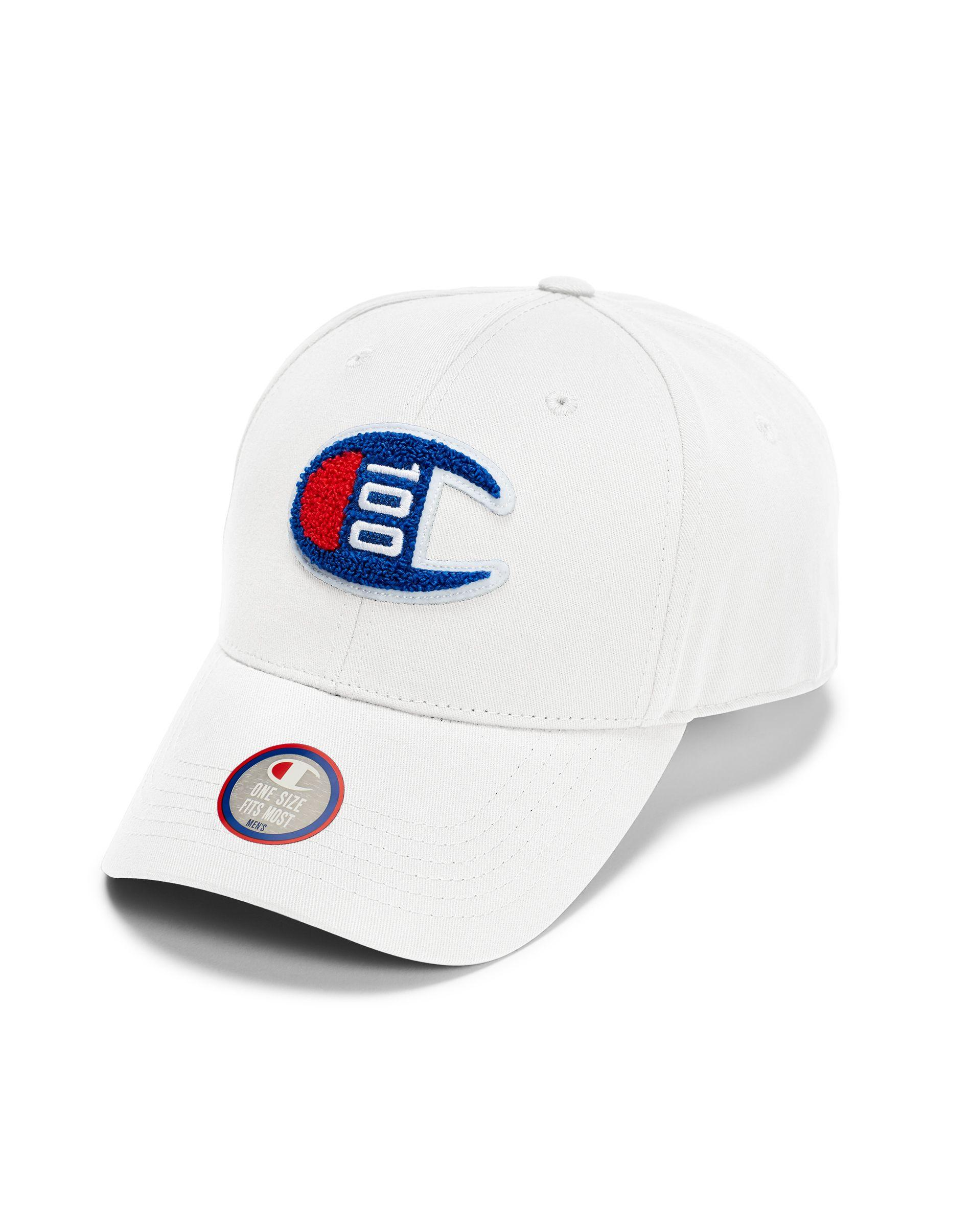 12bf458967609 Champion. Men s White Century Collection Classic Twill Hat ...