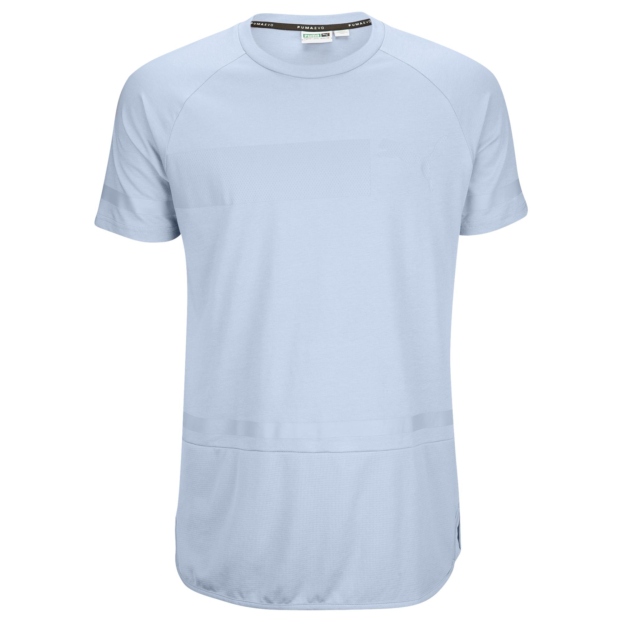 bfa9f489ade PUMA Recharge Short Sleeve T-shirt in Blue for Men - Lyst
