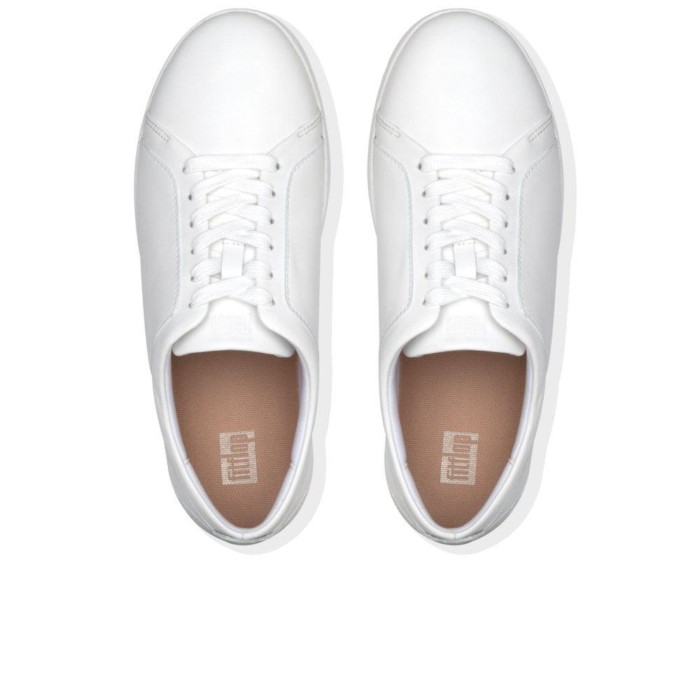e31971fc5 Fitflop - White Rally Womens Casual Trainers - Lyst. View fullscreen