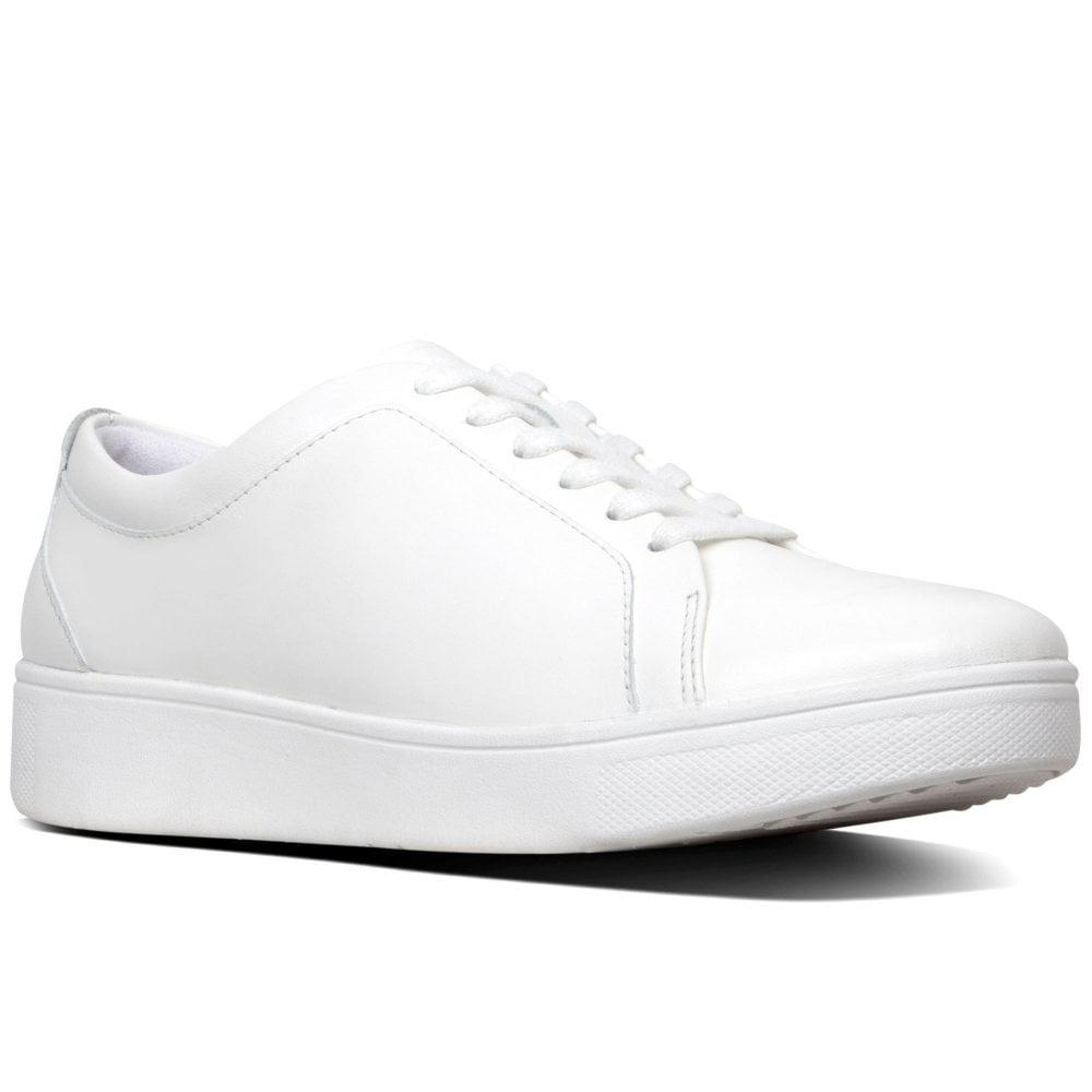 587aeb2c2 Lyst - Fitflop Rally Womens Casual Trainers in White