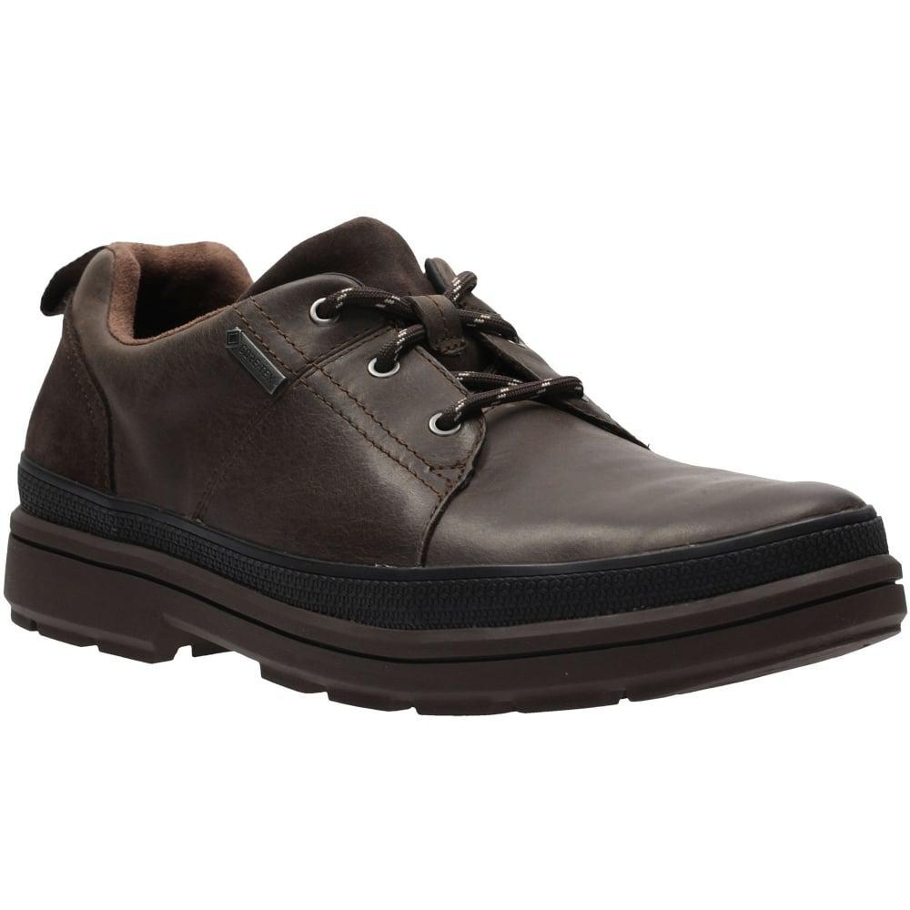 Clarks Gore Tex Black Shoes