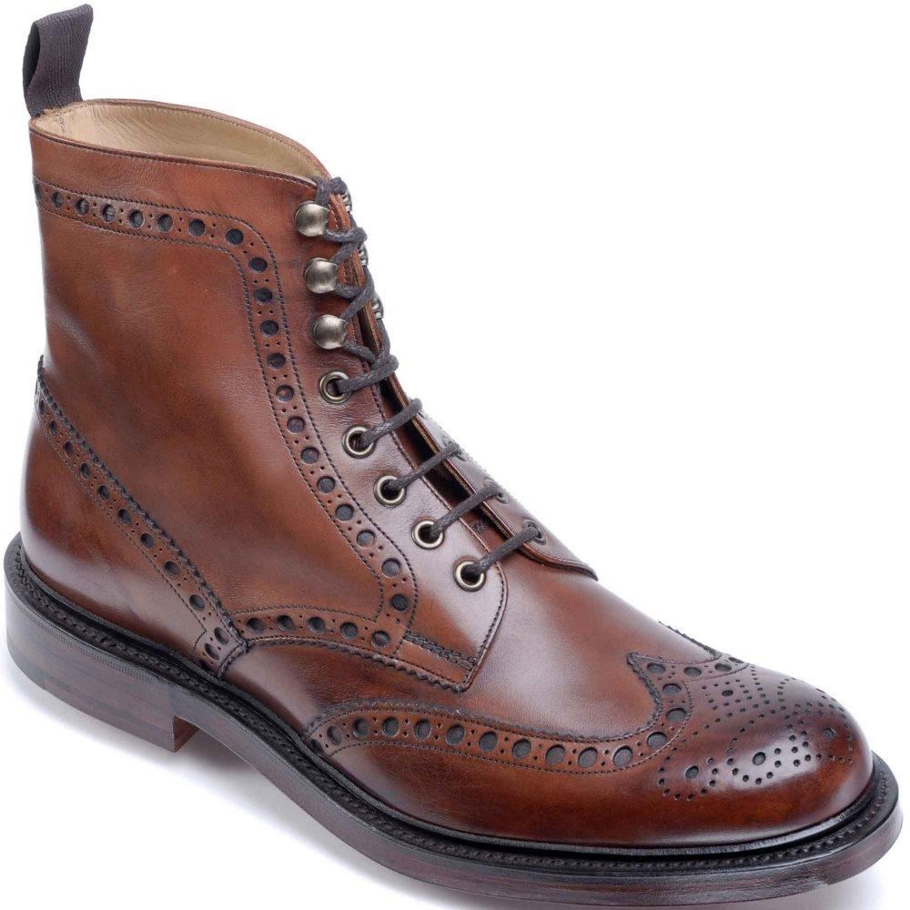 fbf3b2f4f35 Lyst - Cheaney Tweed Mens Formal Lace Up Boots in Brown for Men
