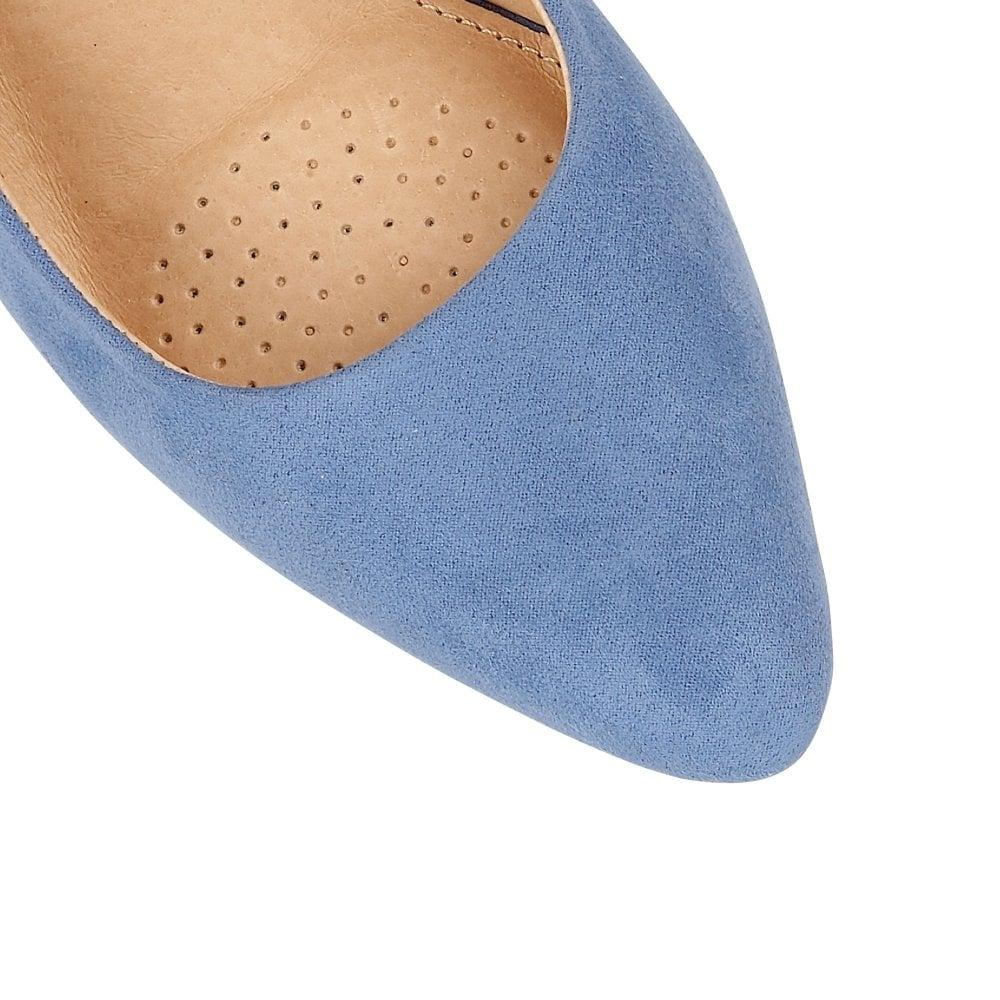 f0847e5a99 Lotus - Blue Lizzie Womens Sling Back Courts Shoes - Lyst. View fullscreen