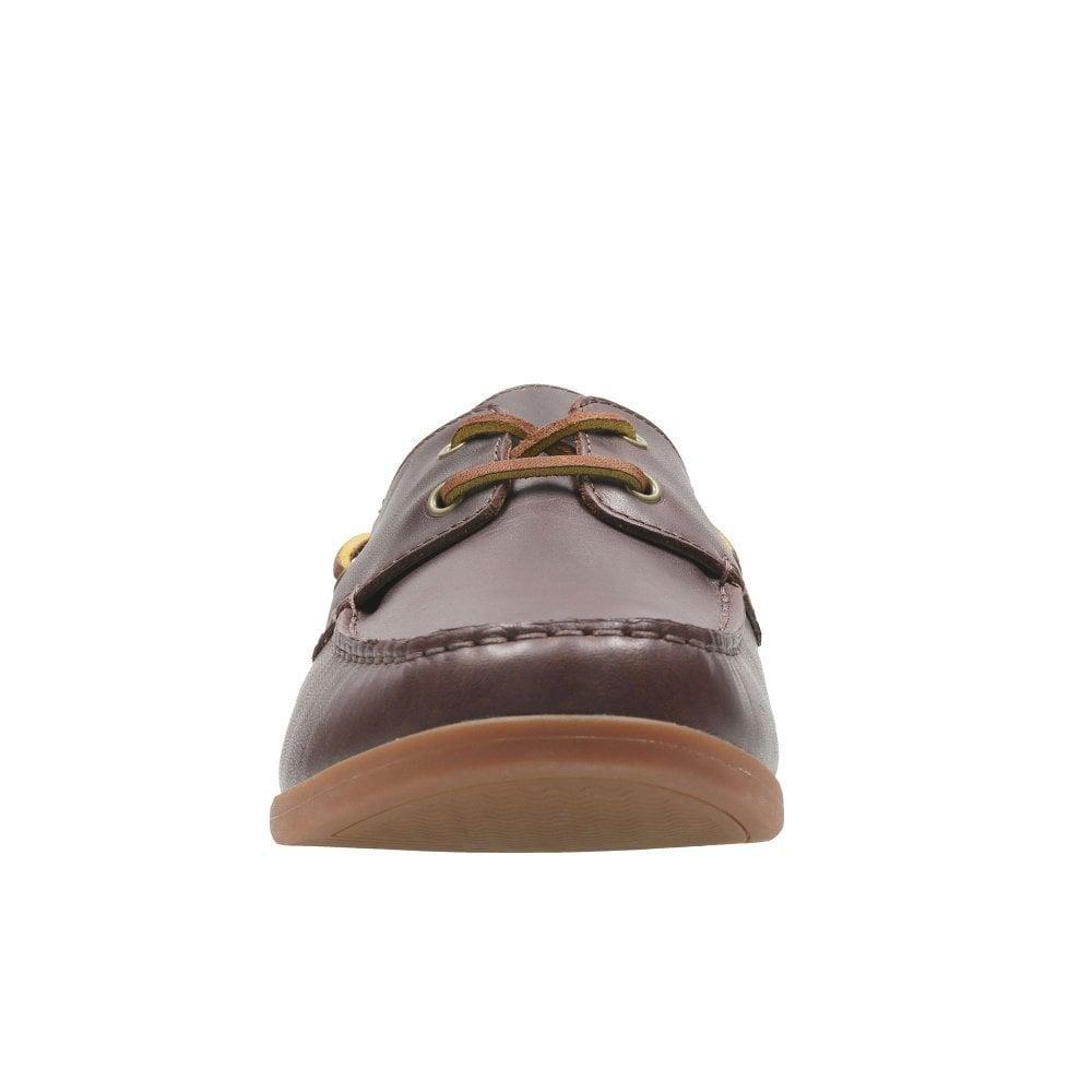 271c83483cc Clarks - Brown Morven Sail Mens Boat Shoes for Men - Lyst. View fullscreen