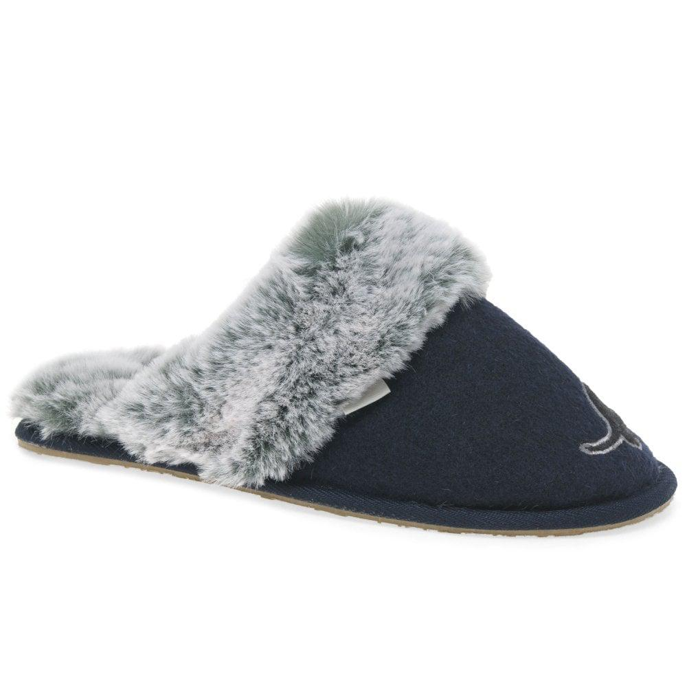 ed994dbebe3 Charles Clinkard Missy Womens Daschund Cosy Lined Mule Slippers in ...