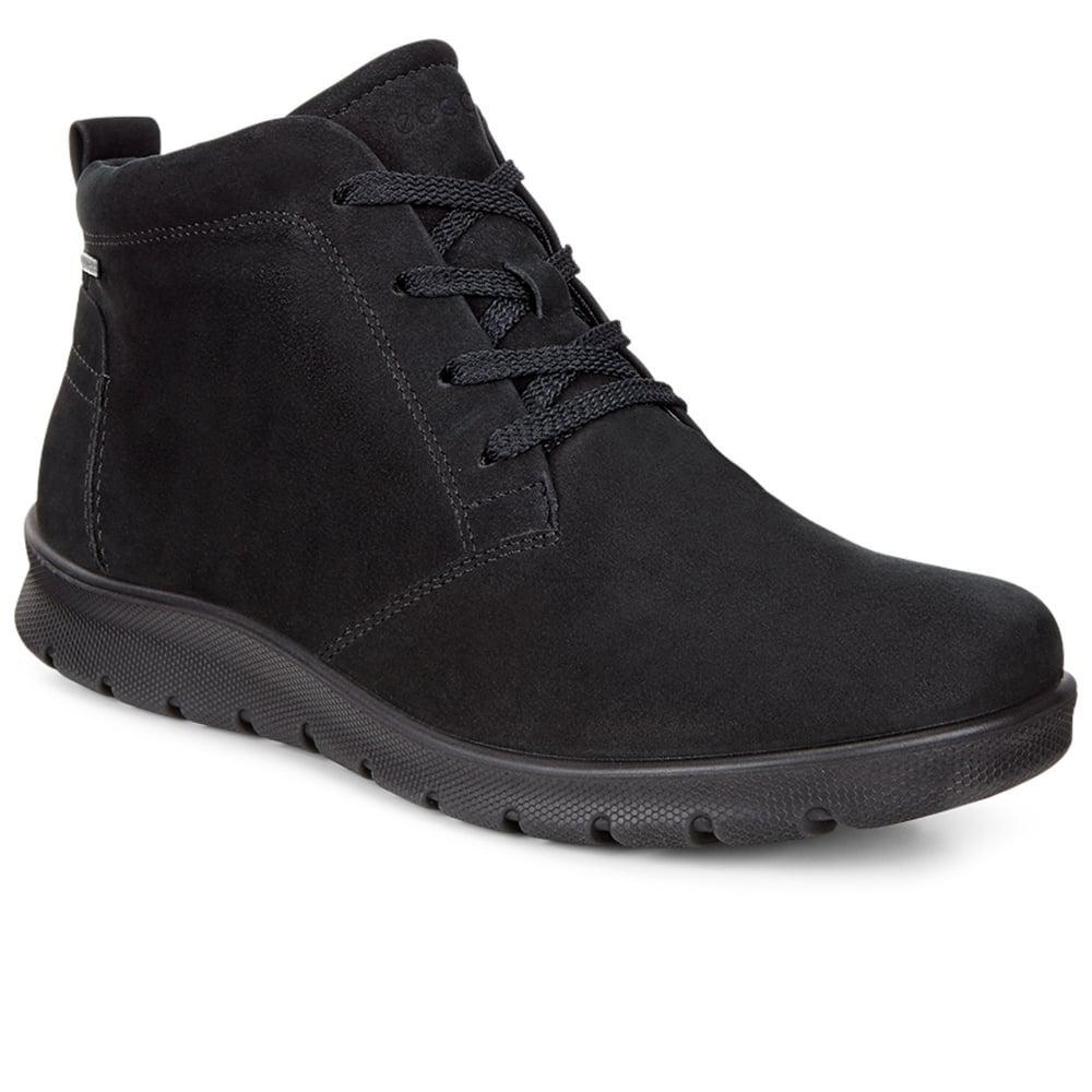 d0df956bc44 Ecco - Black Babett Womens Casual Goretex Boots - Lyst