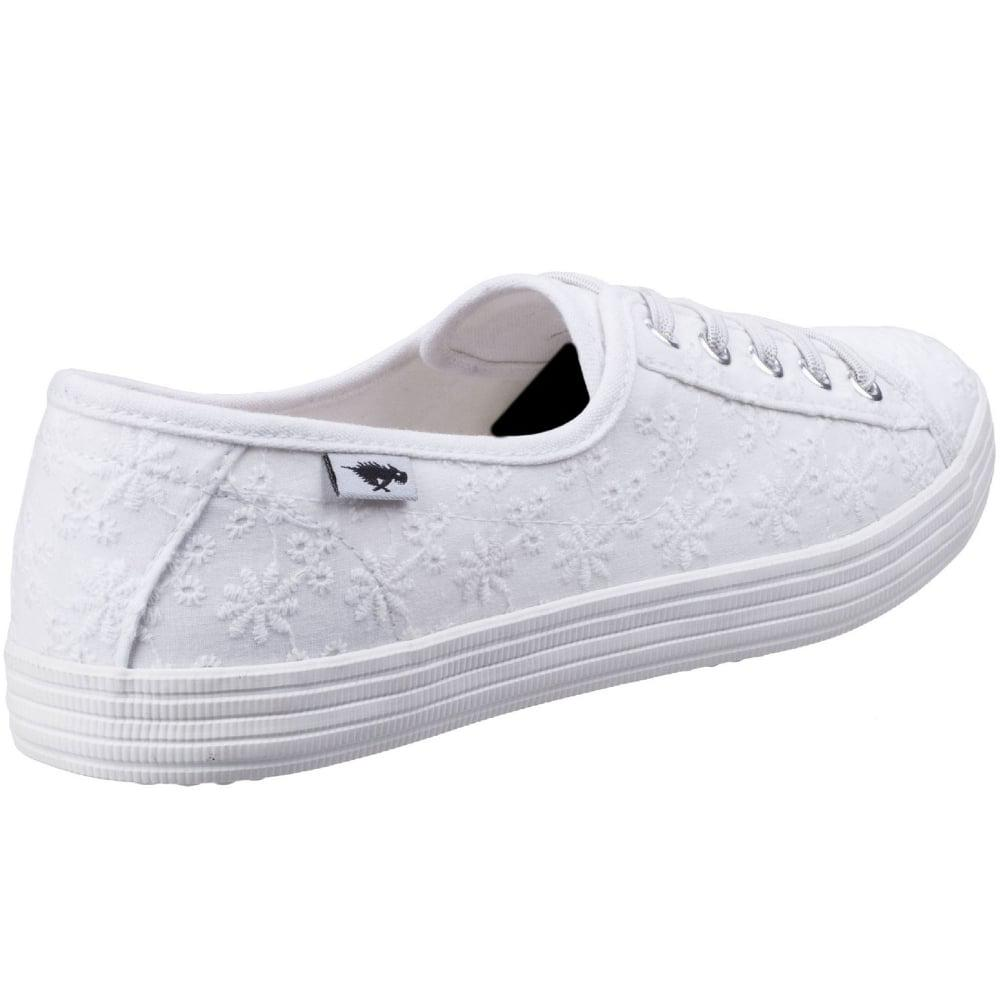 Trainer Lucky Chow Chow Lyst up Lace Rocket White in Eyelet Dog xcPnaa1IW8