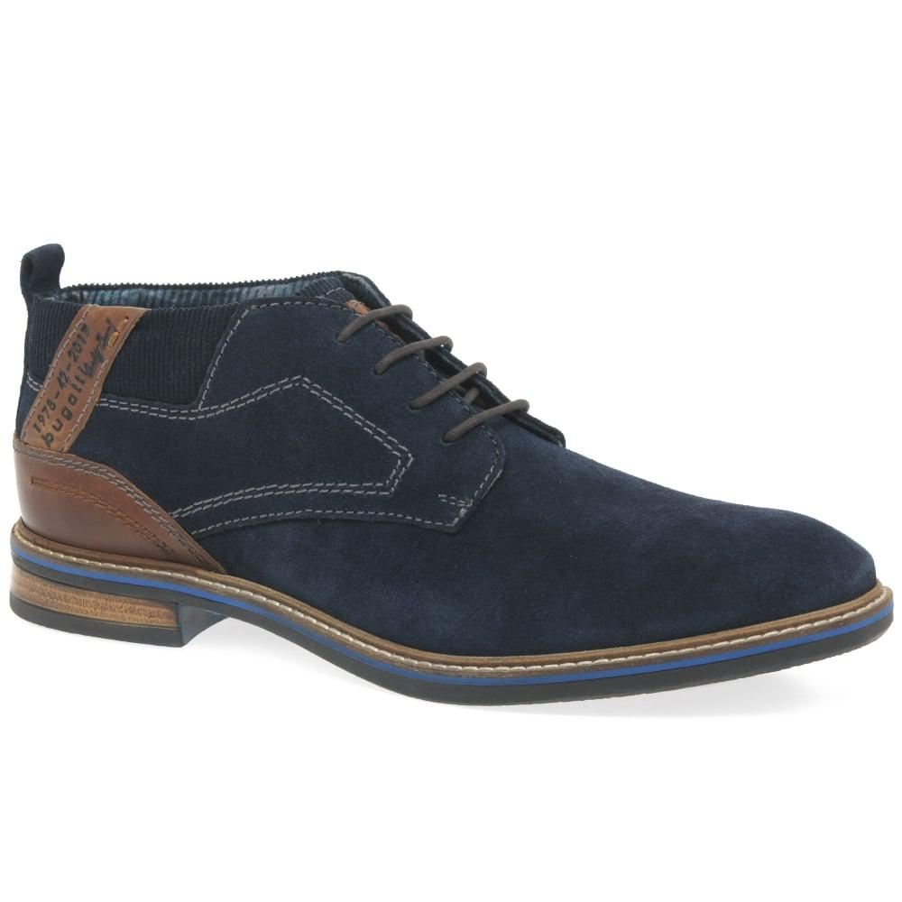 lyst bugatti nixon mens casual suede shoes in blue for men. Black Bedroom Furniture Sets. Home Design Ideas