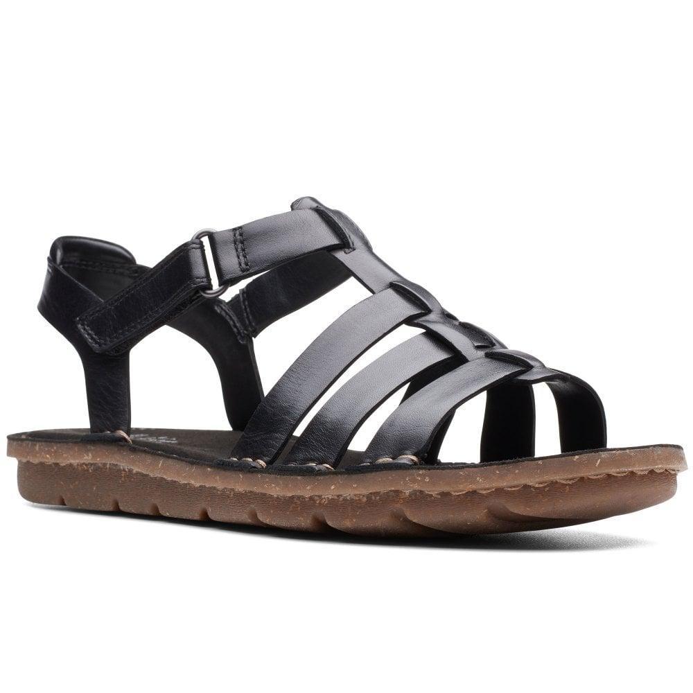 488cc624c909 Lyst - Clarks Blake Jewel Sandals in Black - Save 46%