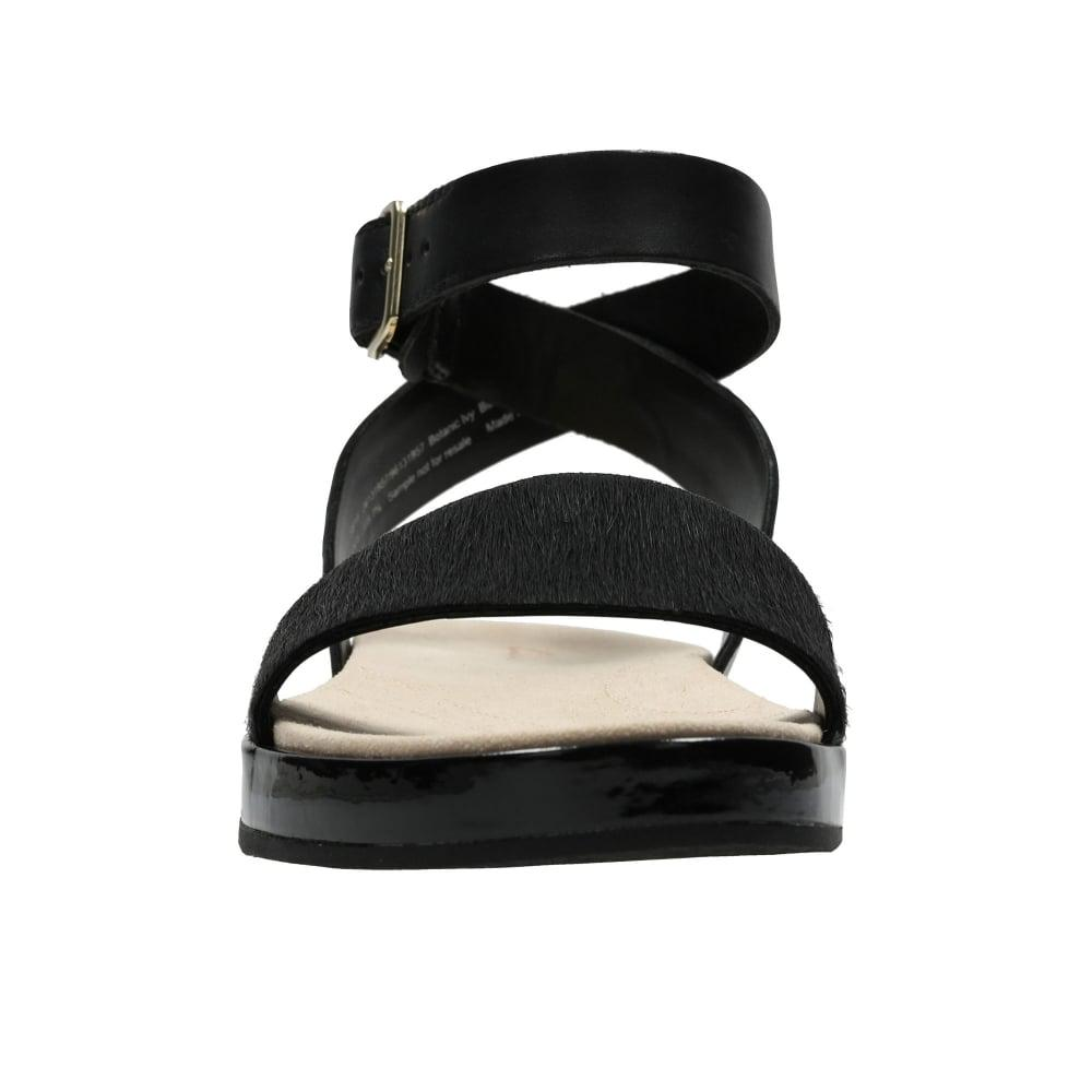 34d44a29d0c Clarks Botanic Ivy Womens Sandals in Black - Lyst