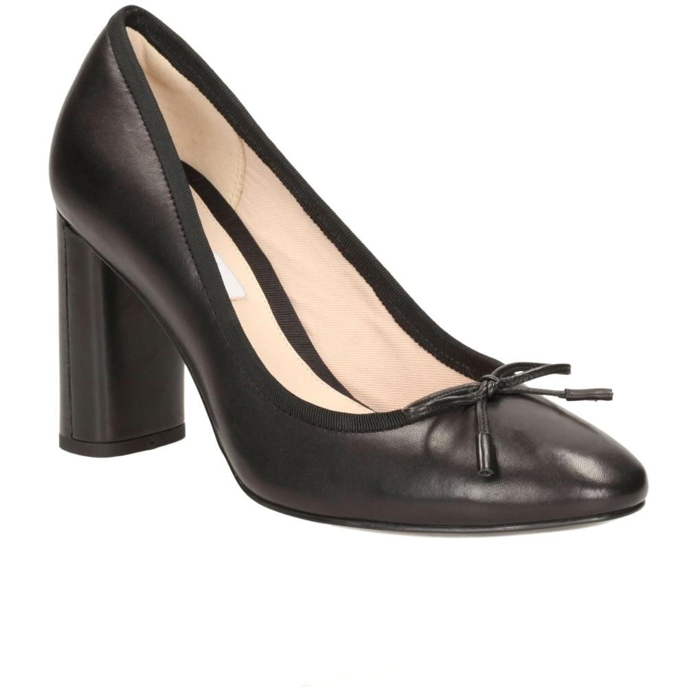 d4e82dcb3c08 Lyst - Clarks Idamarie Womens Formal Shoes in Black