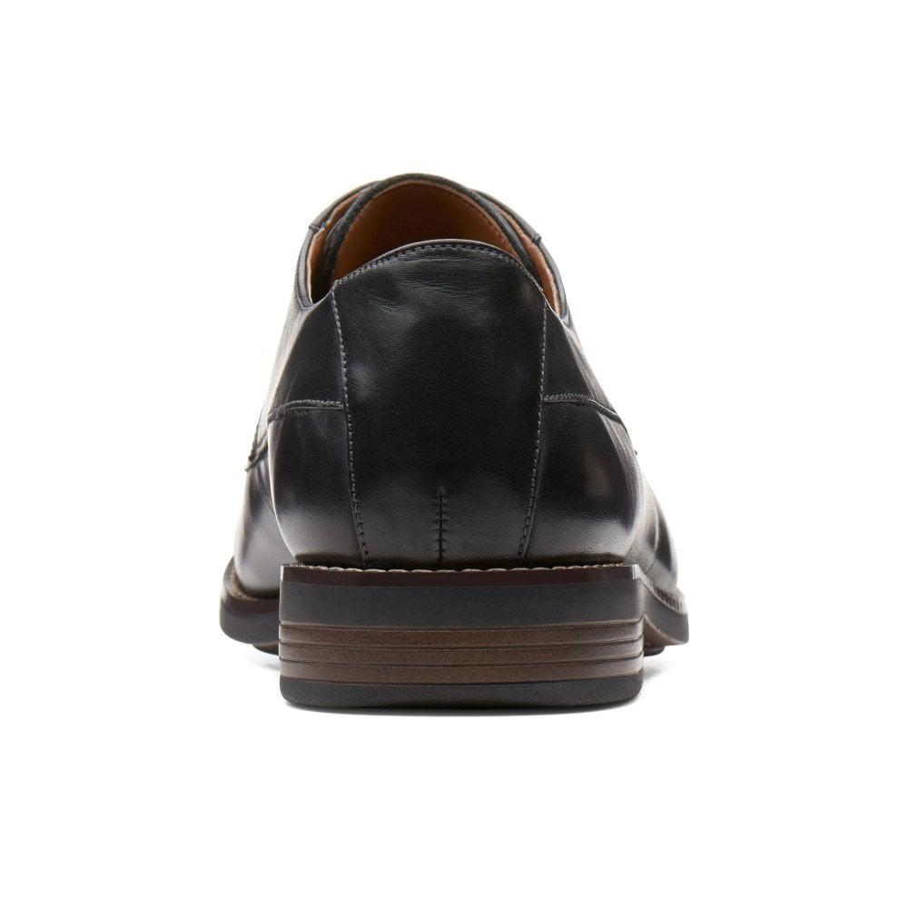 eb868033f805 Clarks - Black Becken Cap Mens Formal Lace Up Shoes for Men - Lyst. View  fullscreen