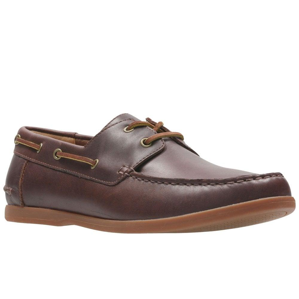 a6802fc4123fb Lyst Clarks Morven Sail Mens Boat Shoes In Brown For Men Save