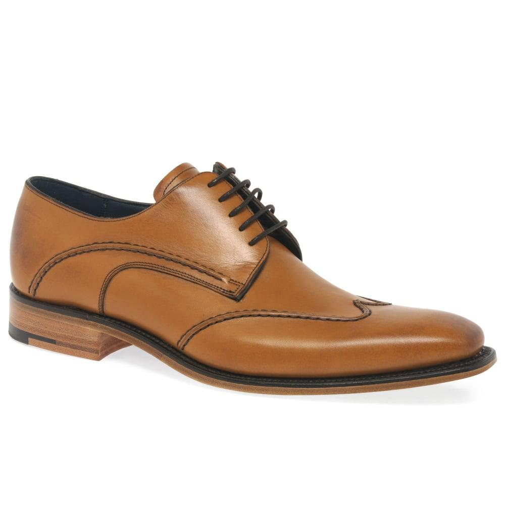 discount newest Tan 'Bailey' Mens Formal Lace Up Brogues sale extremely OiARK2f