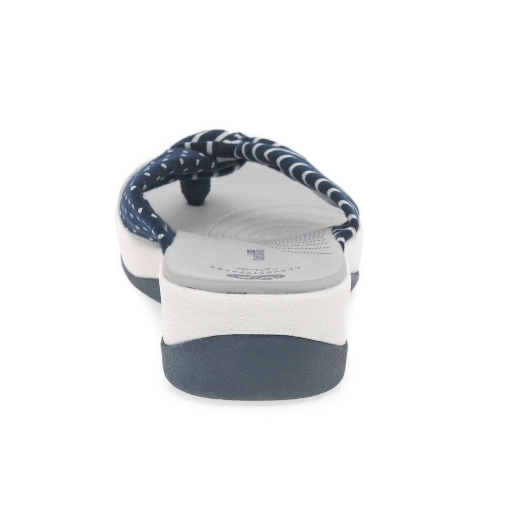 7e12bbb67816 Clarks - Blue Arla Glison Womens Toe Post Sandals - Lyst. View fullscreen