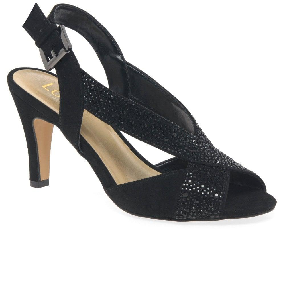 38aca8a95669 Lotus - Black Anya Womens Dress Sandals - Lyst. View fullscreen