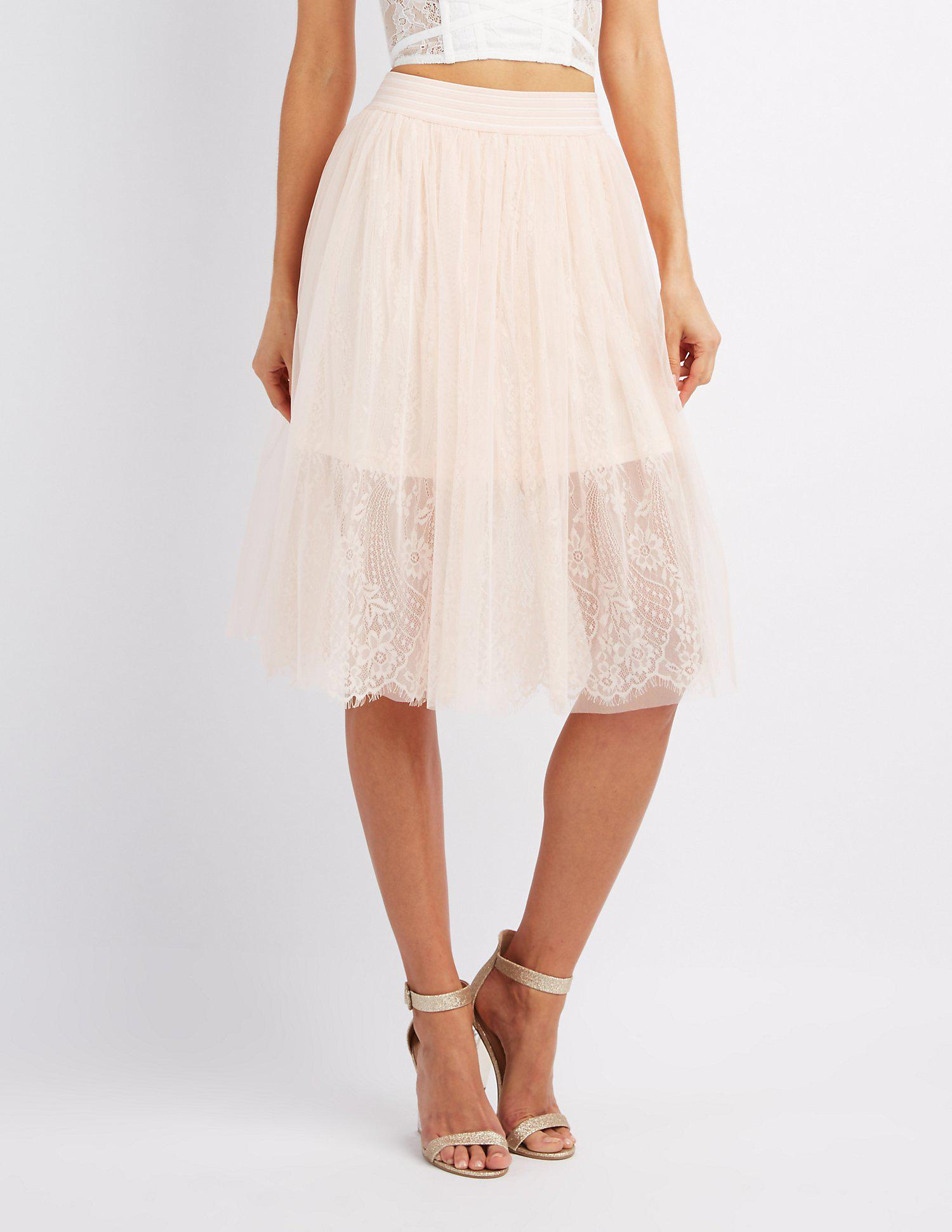 a572a66127 Gallery. Previously sold at: Charlotte Russe · Women's Tulle Skirts ...