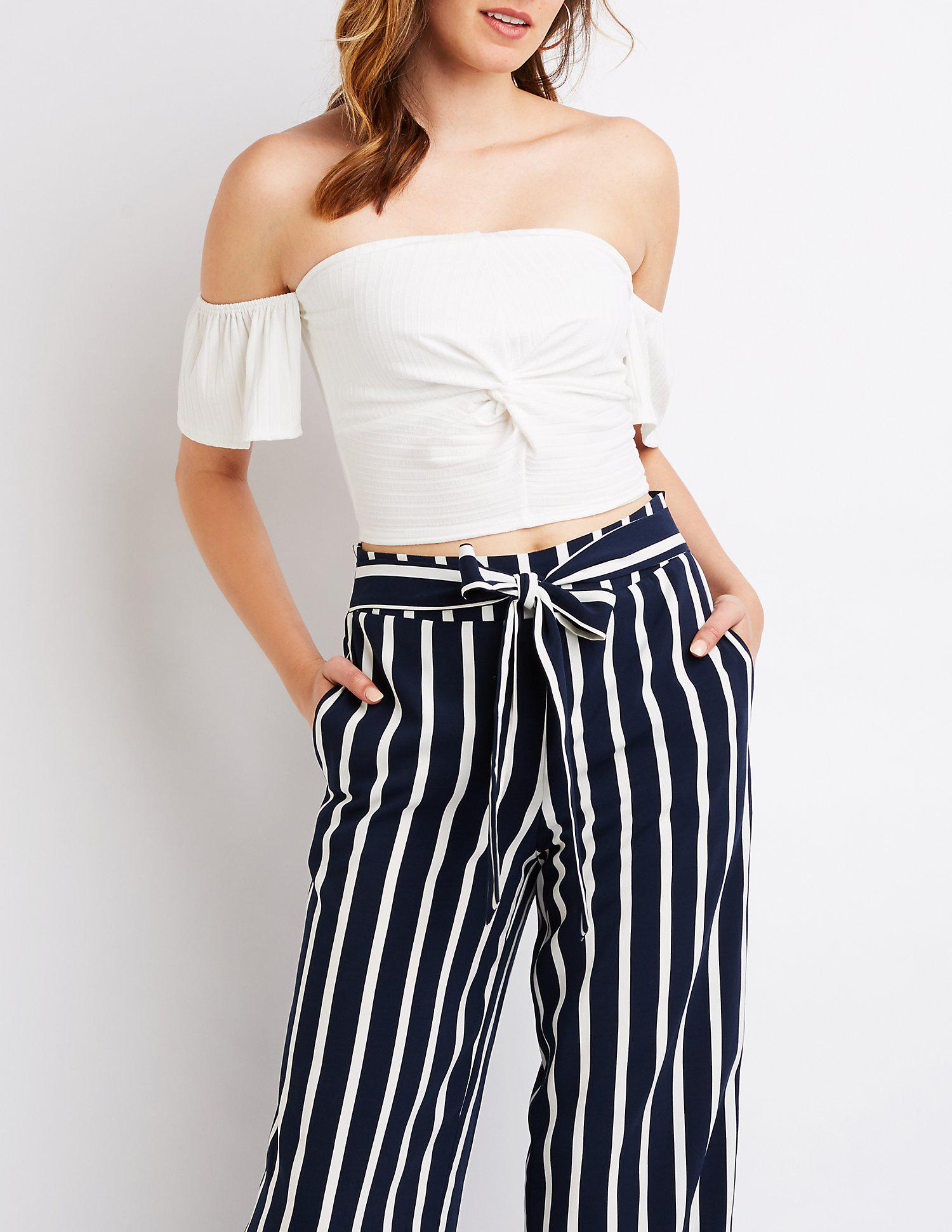 ad84484c27d4a6 Gallery. Previously sold at  Charlotte Russe · Women s Crop Tops ...