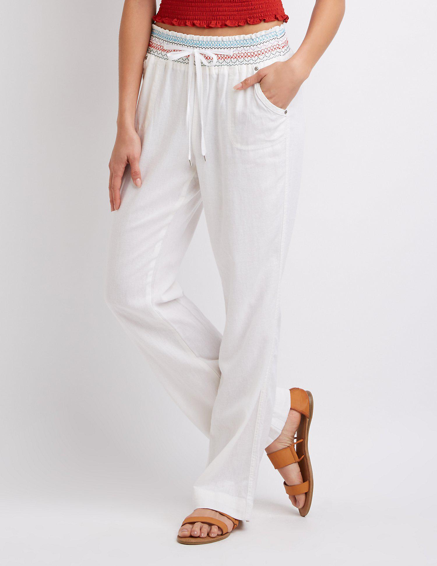 0839fbc7879fa Gallery. Previously sold at: Charlotte Russe · Women's Palazzo Pants