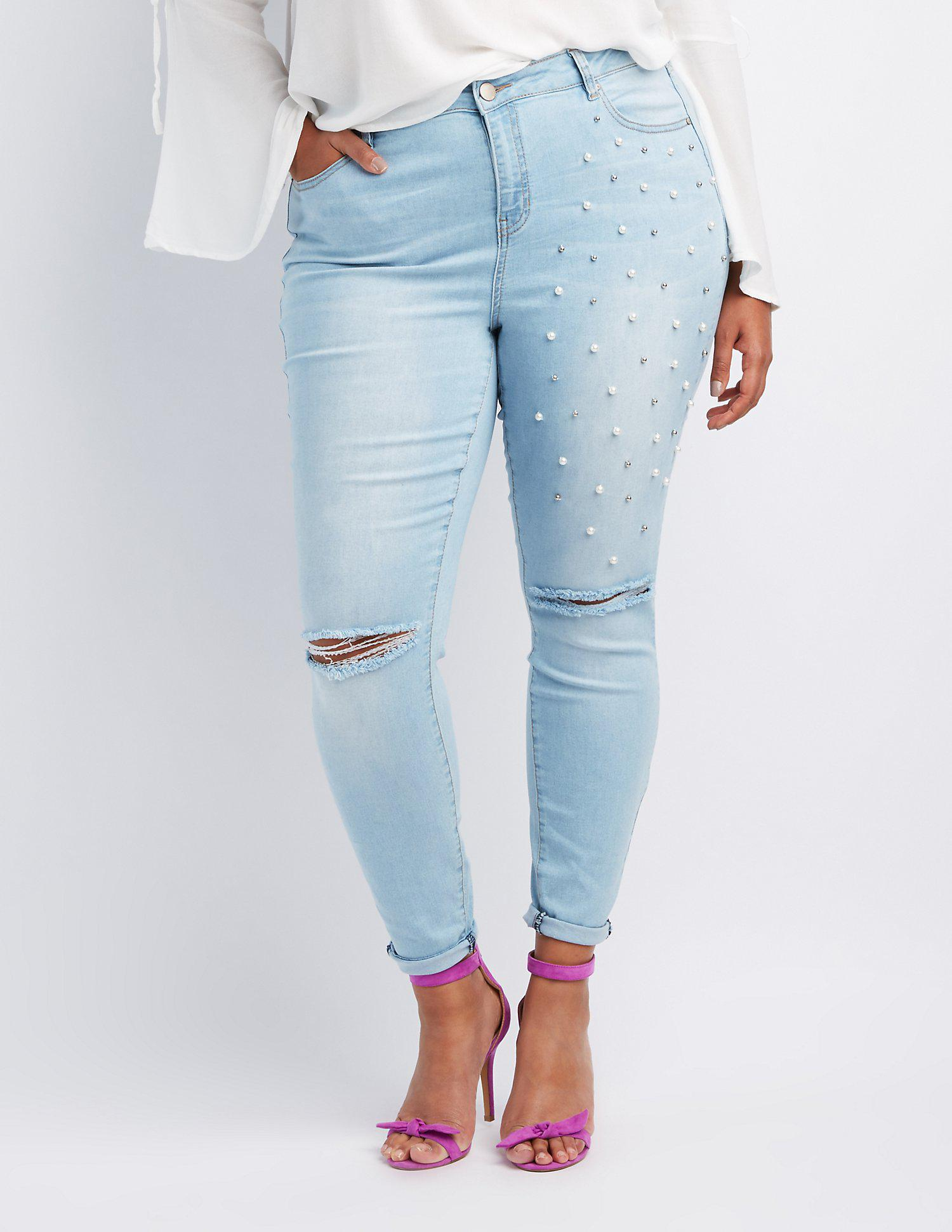 527b2b824e22f Gallery. Previously sold at  Charlotte Russe · Women s Ginger Jeans ...