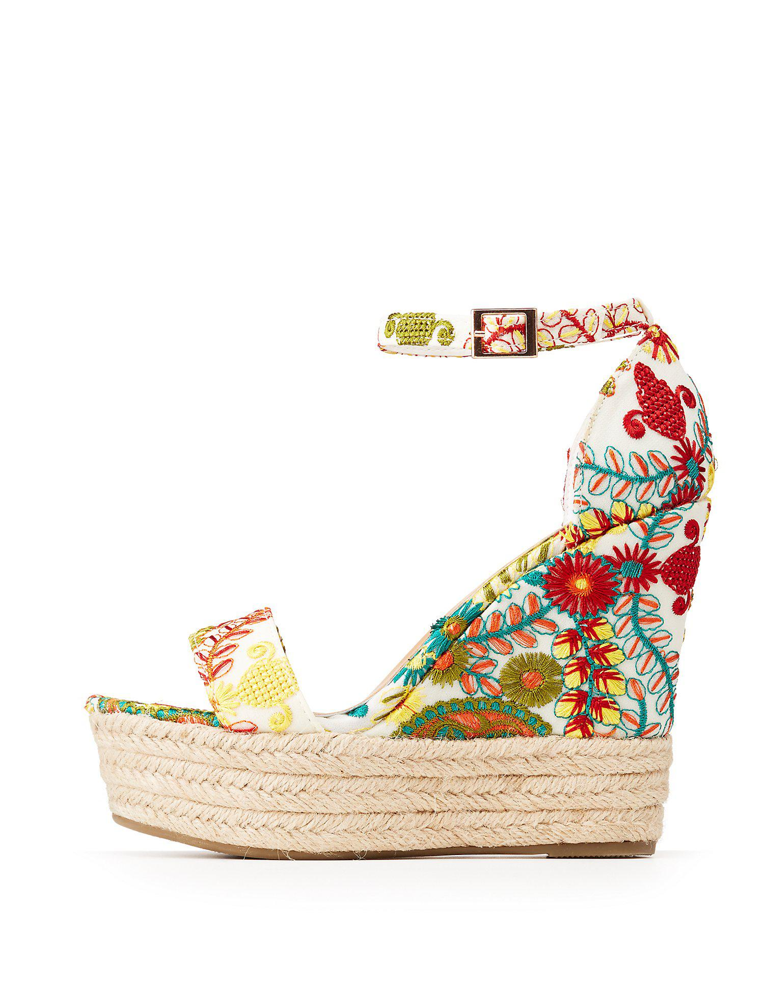 e92130d31abb Gallery. Previously sold at  Charlotte Russe · Women s White Platform Wedges