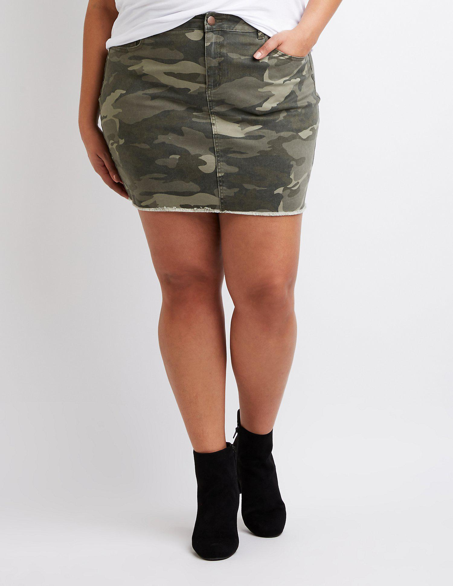 c44366a59 Gallery. Previously sold at: Charlotte Russe · Women's Button Down Skirts  ...