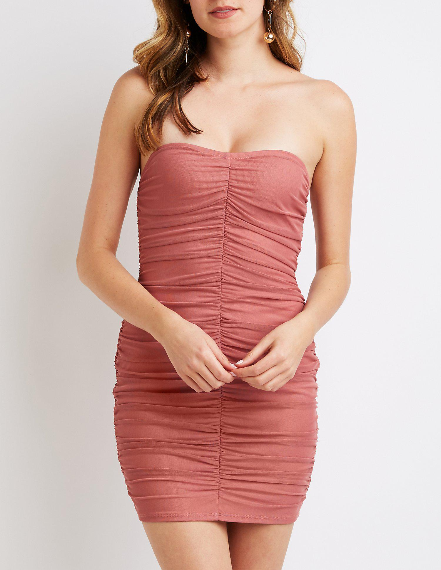 33417d280eae Gallery. Previously sold at: Charlotte Russe · Women's Bodycon Dresses ...