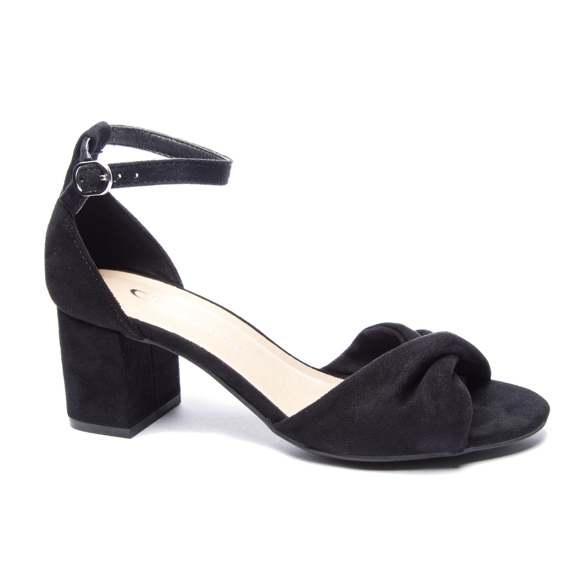 fd860a73bc5 Lyst - Chinese Laundry Joselyn Block Heel Sandal in Black