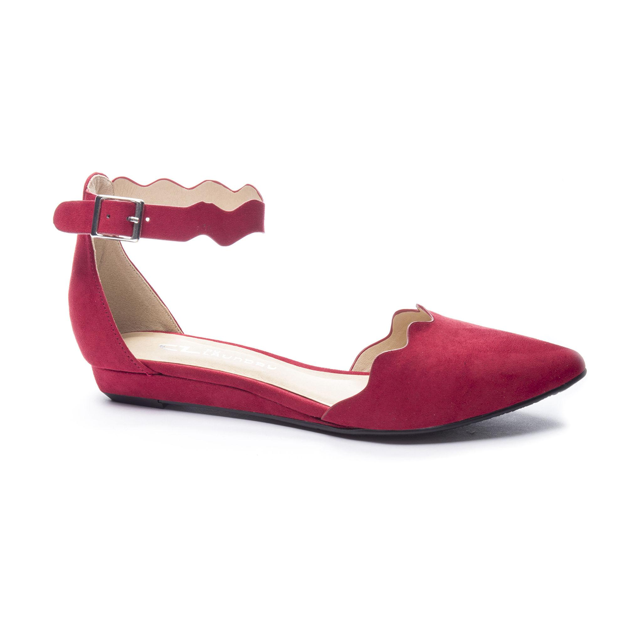 f1e32f4e7 Lyst - Chinese Laundry Studio D orsay Flat in Red