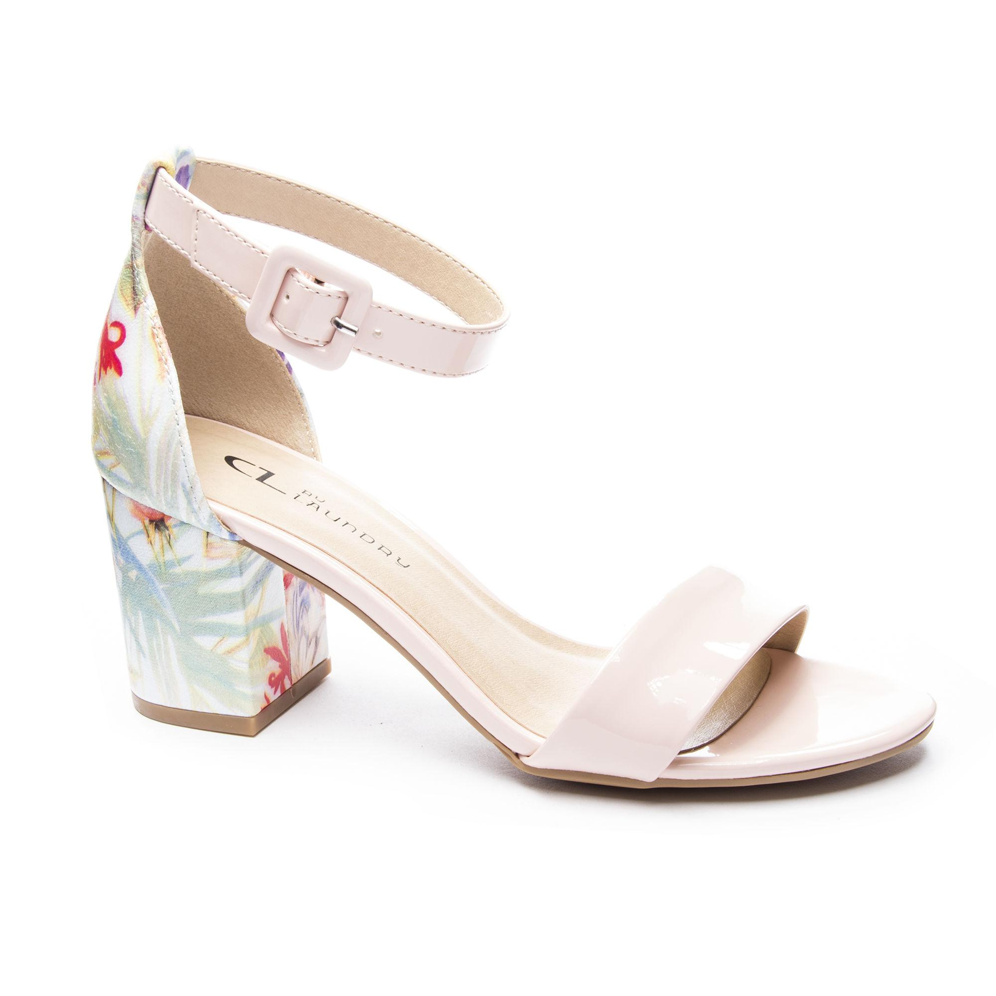406437318a8 Lyst - Chinese Laundry Jody Block Heel Sandal in Pink