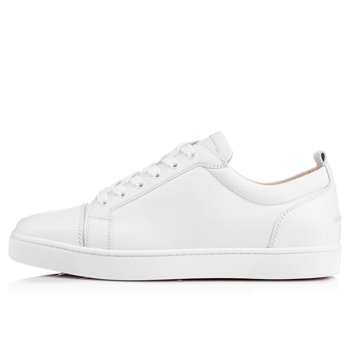 4ef661e506d Lyst - Christian Louboutin Louis Junior Leather Low-Top Sneakers in ...
