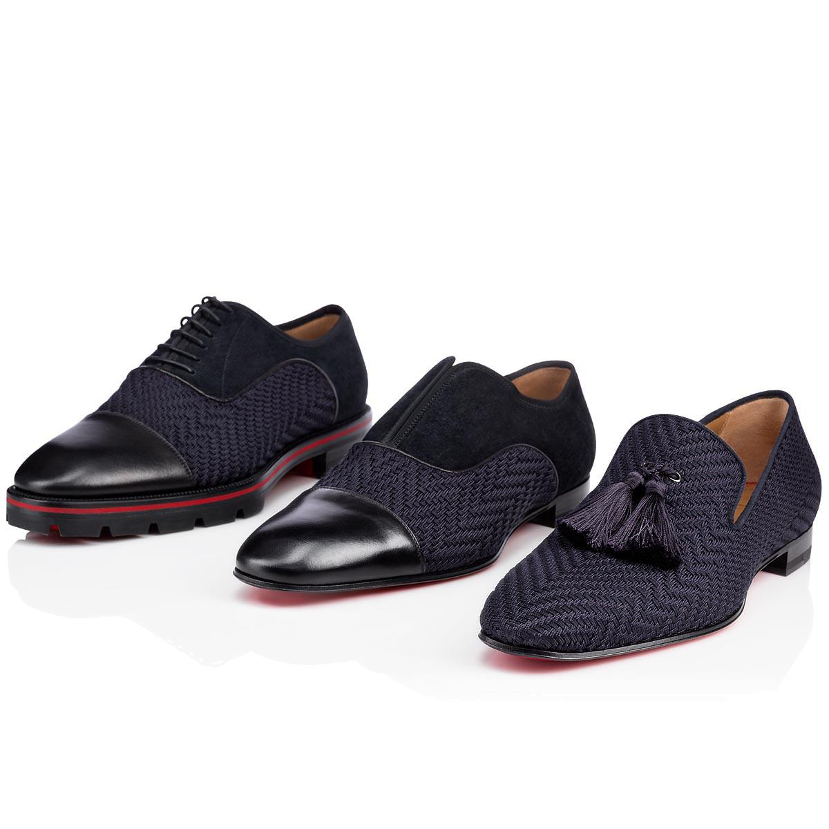 027cea34fd3b Lyst - Christian Louboutin Officialito Flat in Blue for Men